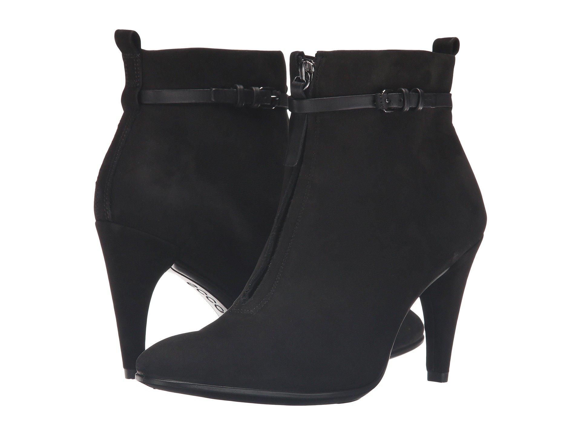 d2765570d5928 Lyst - Ecco Shape 75 Sleek Ankle Boot in Black - Save 56%