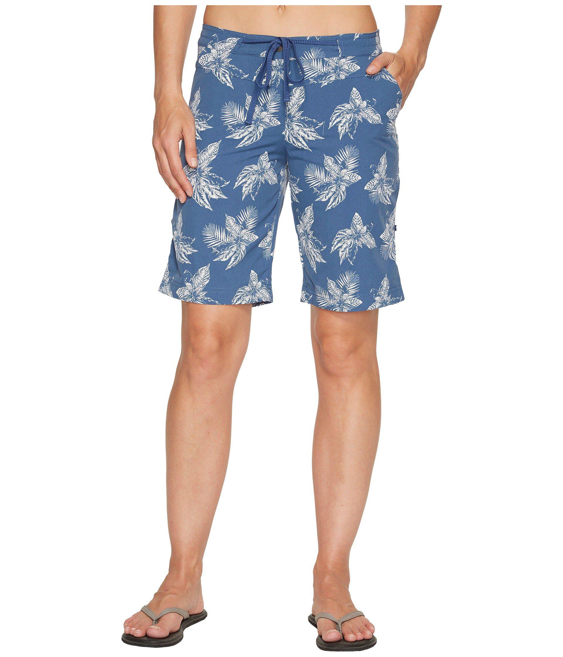 2717e56e1b Lyst - Jack Wolfskin Pomona Tropical Shorts in Blue for Men