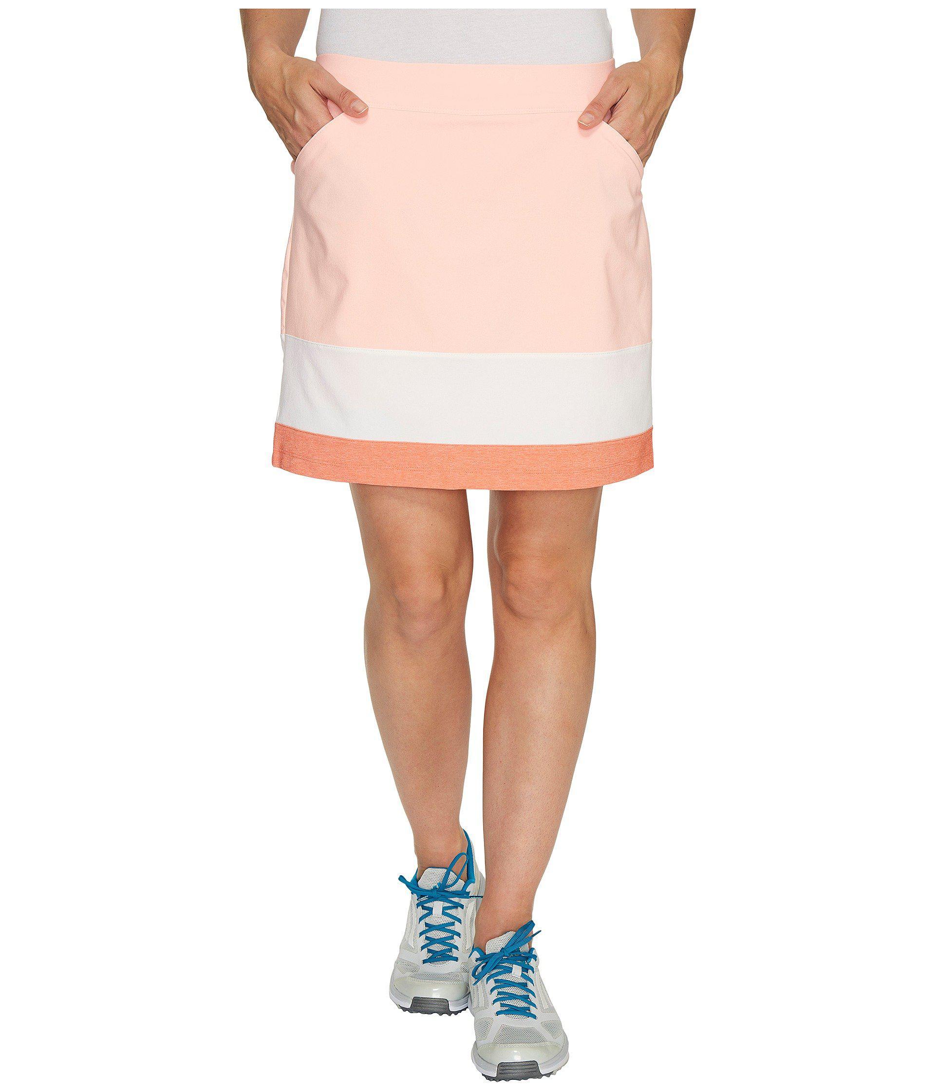 ec4fda4cb71d adidas Originals Ultimate Adistar Color Block Skort in Pink - Lyst