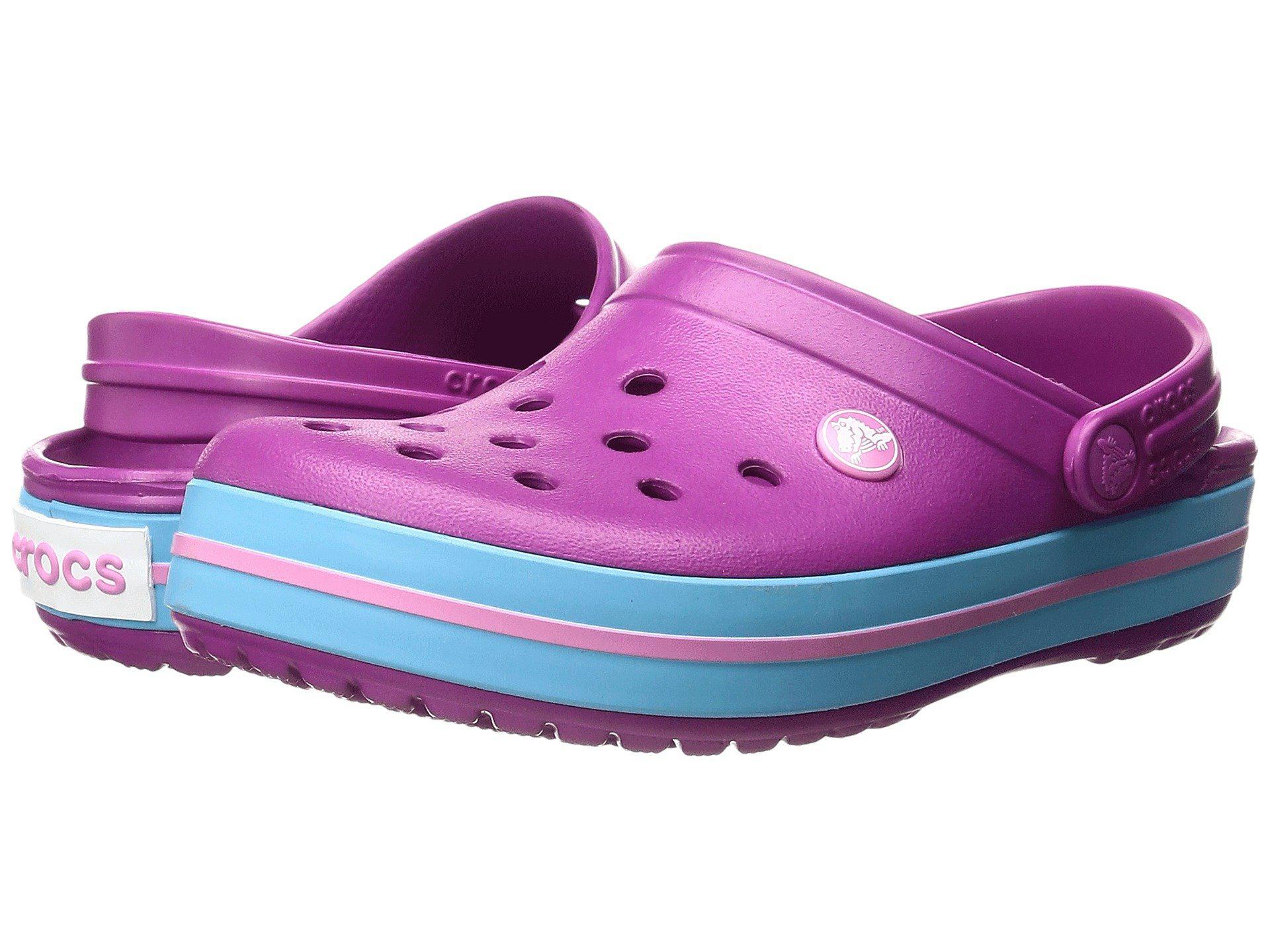 7e17672a00127 Crocs™. Purple Crocband