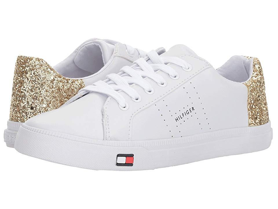 4cd6e1ff1 Tommy Hilfiger Lune (white/gold) Shoes in White - Save 10% - Lyst
