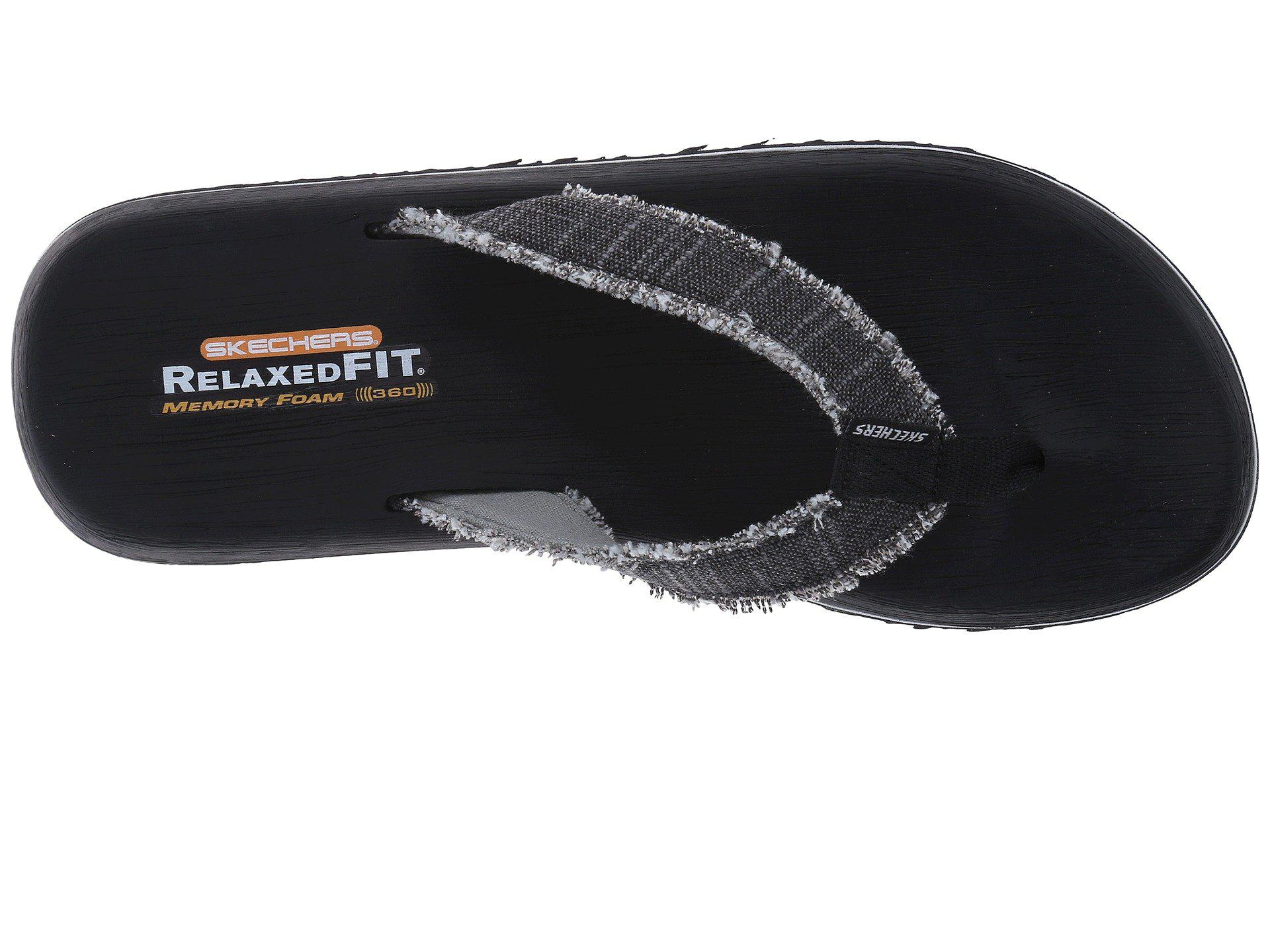 1346a14f17ed Skechers - Black Relaxed Fit®  Tantric - Salman for Men - Lyst. View  fullscreen