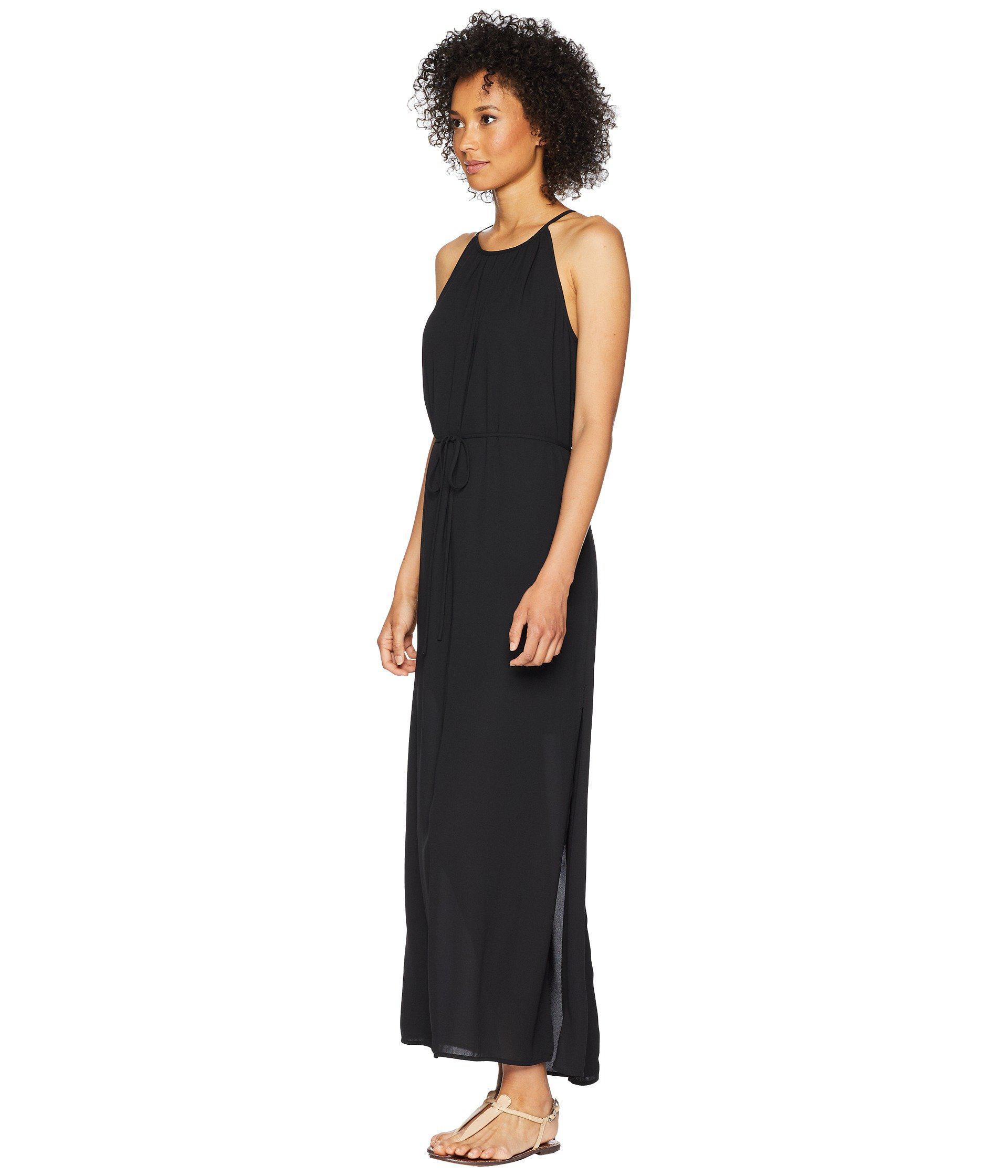 118fe1ac87d Lyst - Karen Kane Morgan Halter Maxi Dress in Black - Save 26%