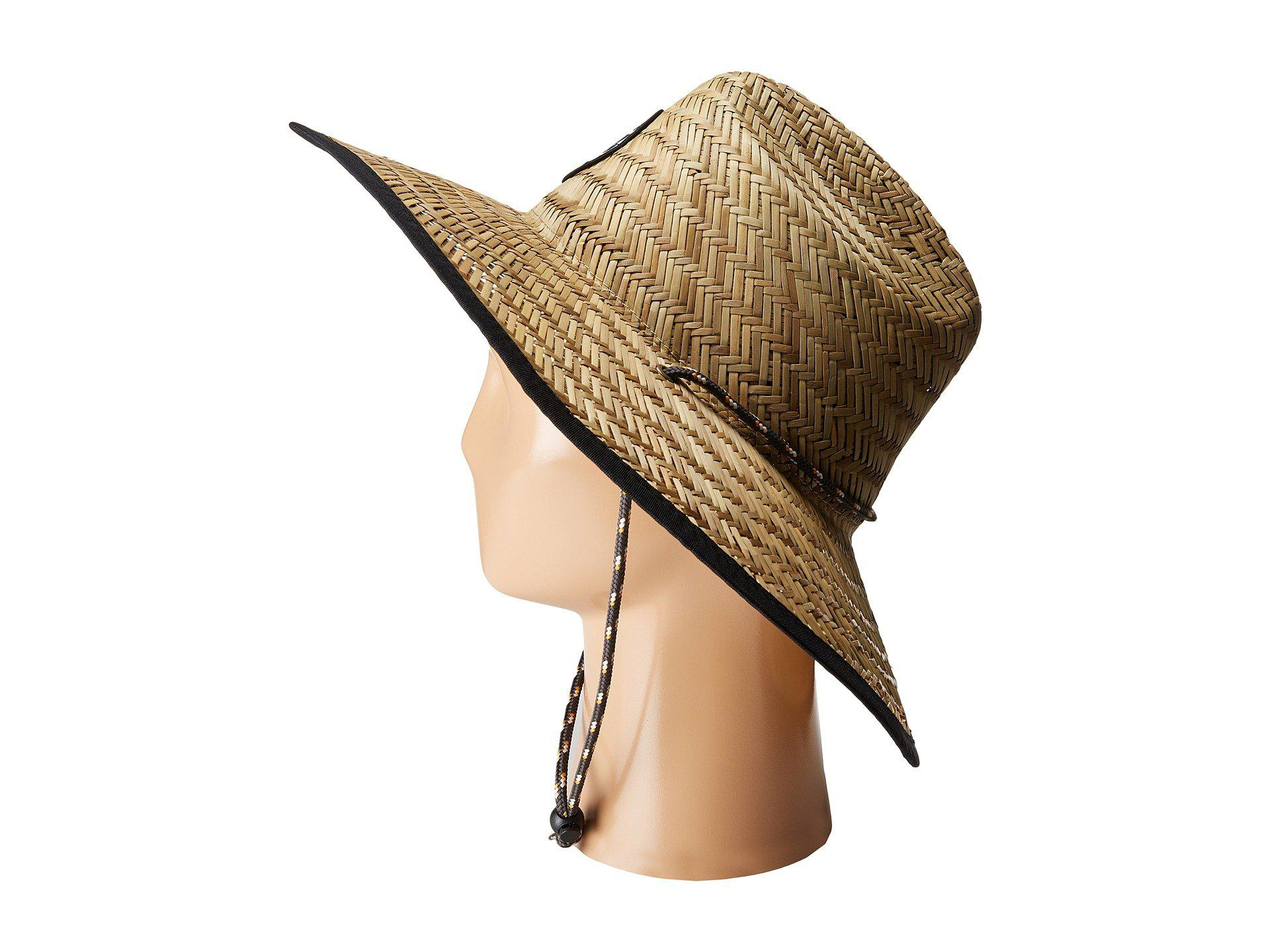 189df34f Rip Curl Baywatch Straw Hat in Natural - Lyst