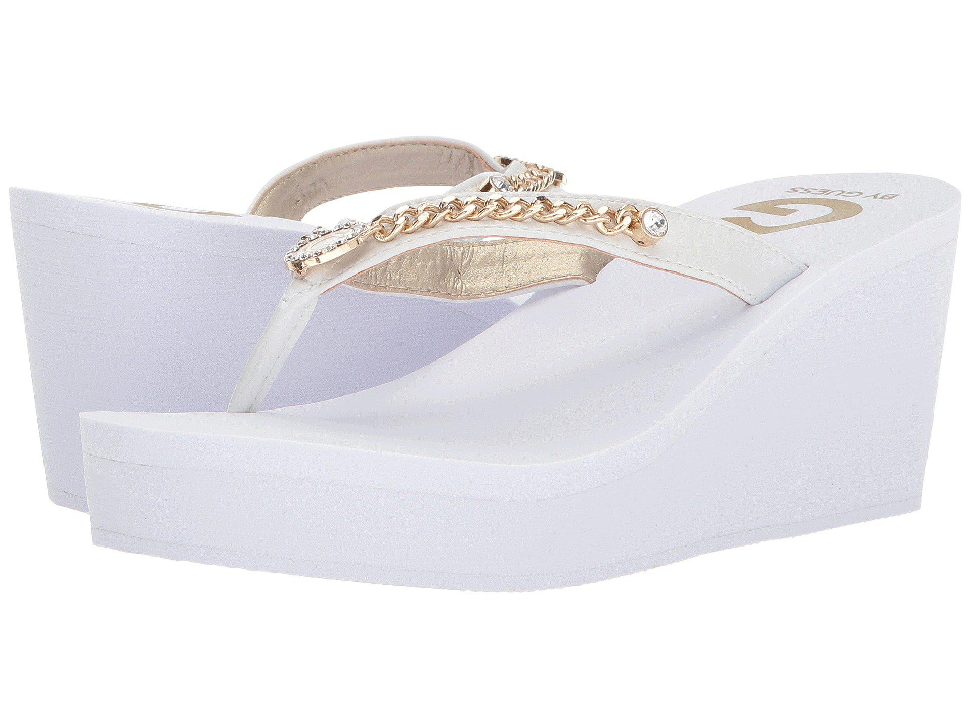 G by GUESS Saleen Wedge Platform Sandal