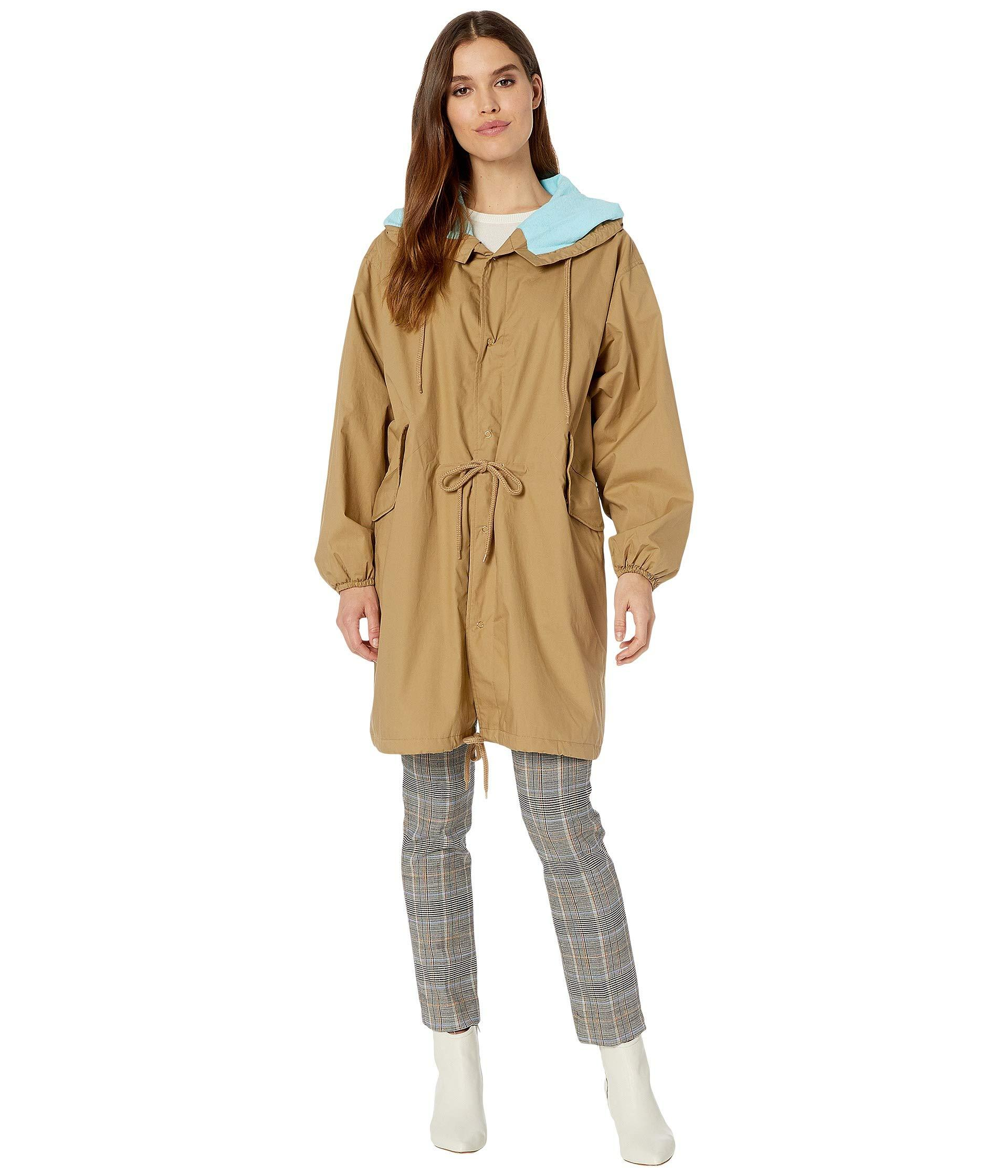 3944ed3e8e07 Lyst - Juicy Couture Parachute Microterry Lined Parka in Natural