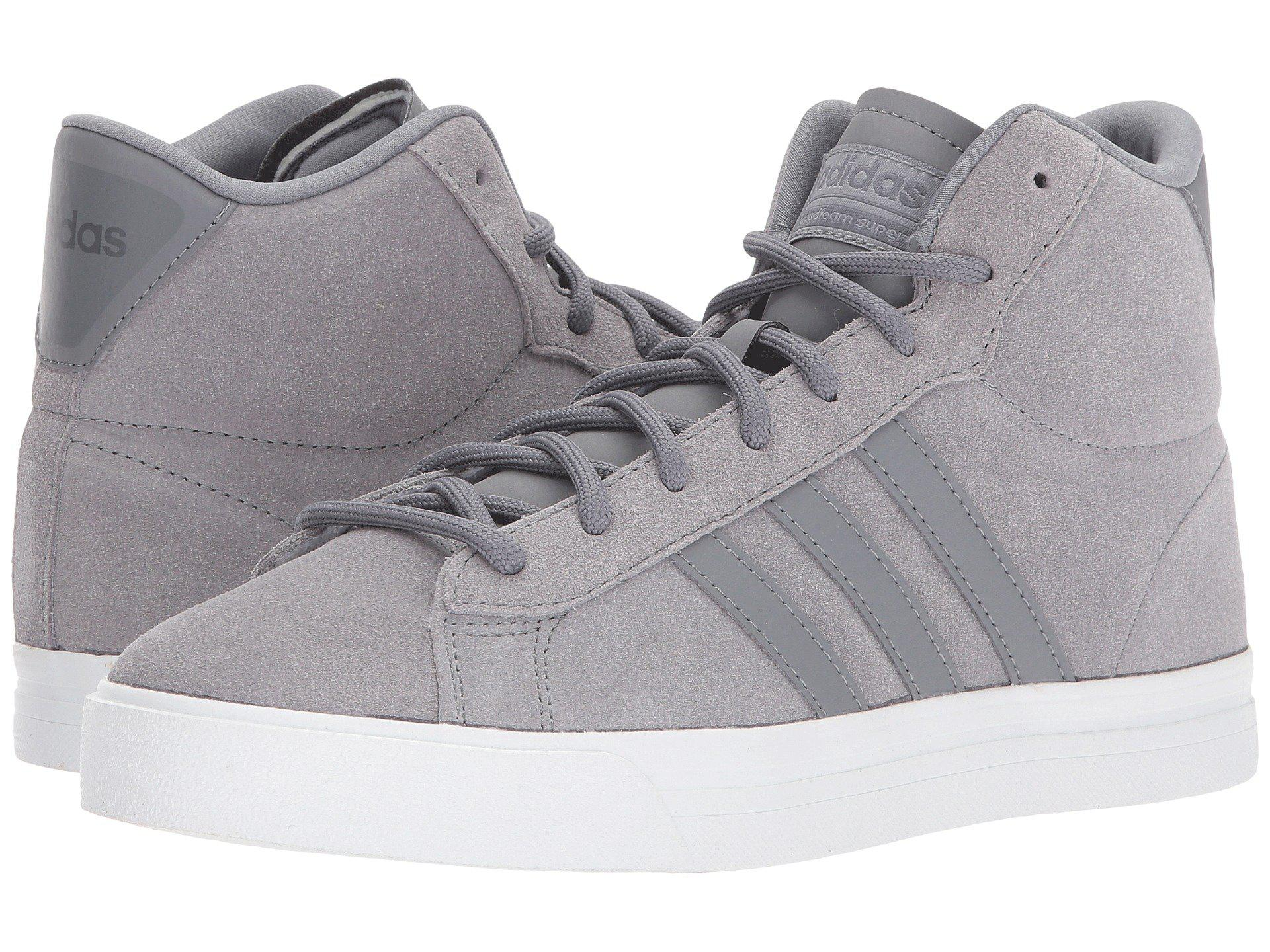 Lyst - adidas Cloudfoam Super Daily Mid in Gray for Men a5a7516c3