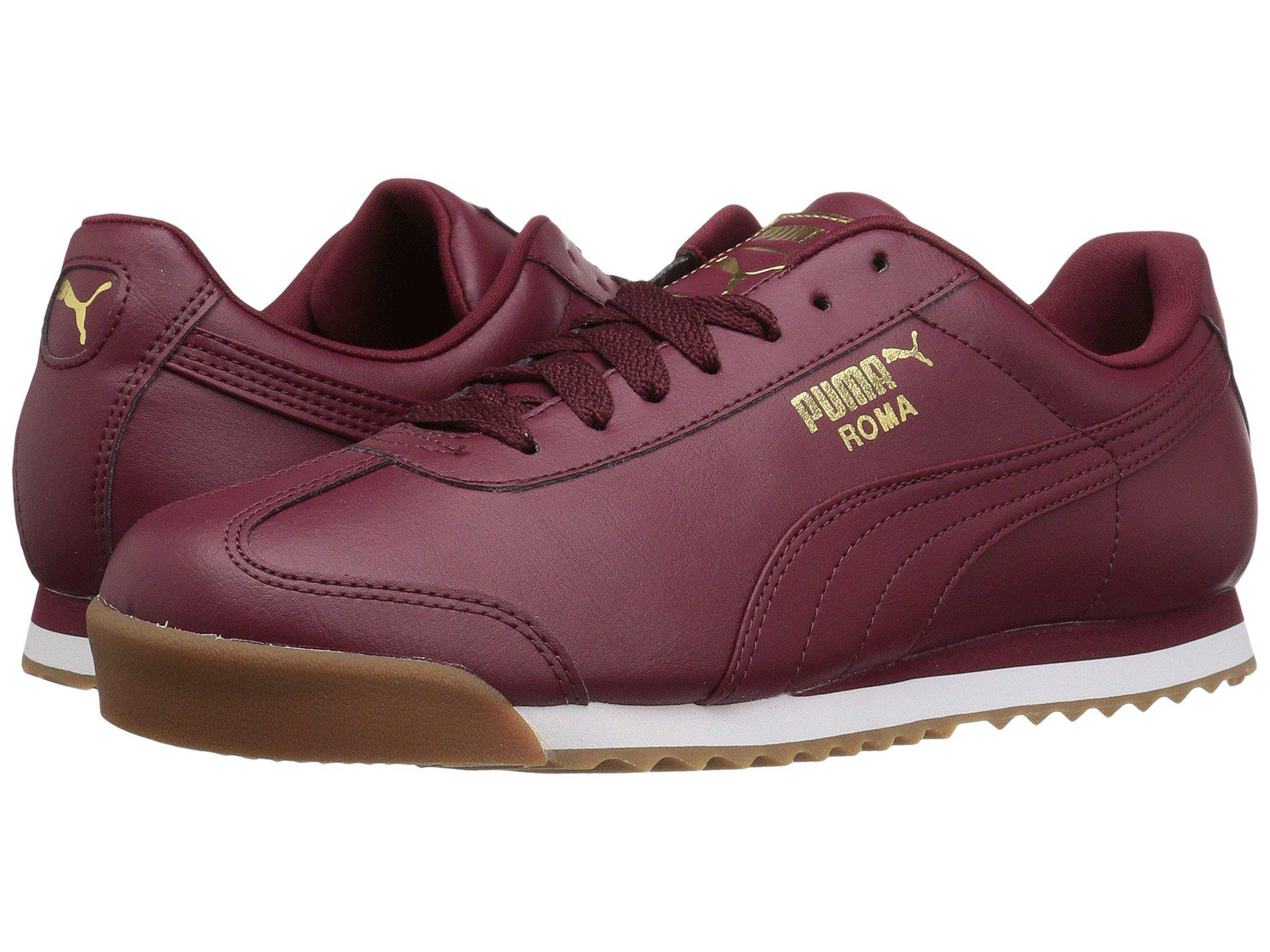 88a11fc6442 Lyst - PUMA Roma Basic Gold for Men