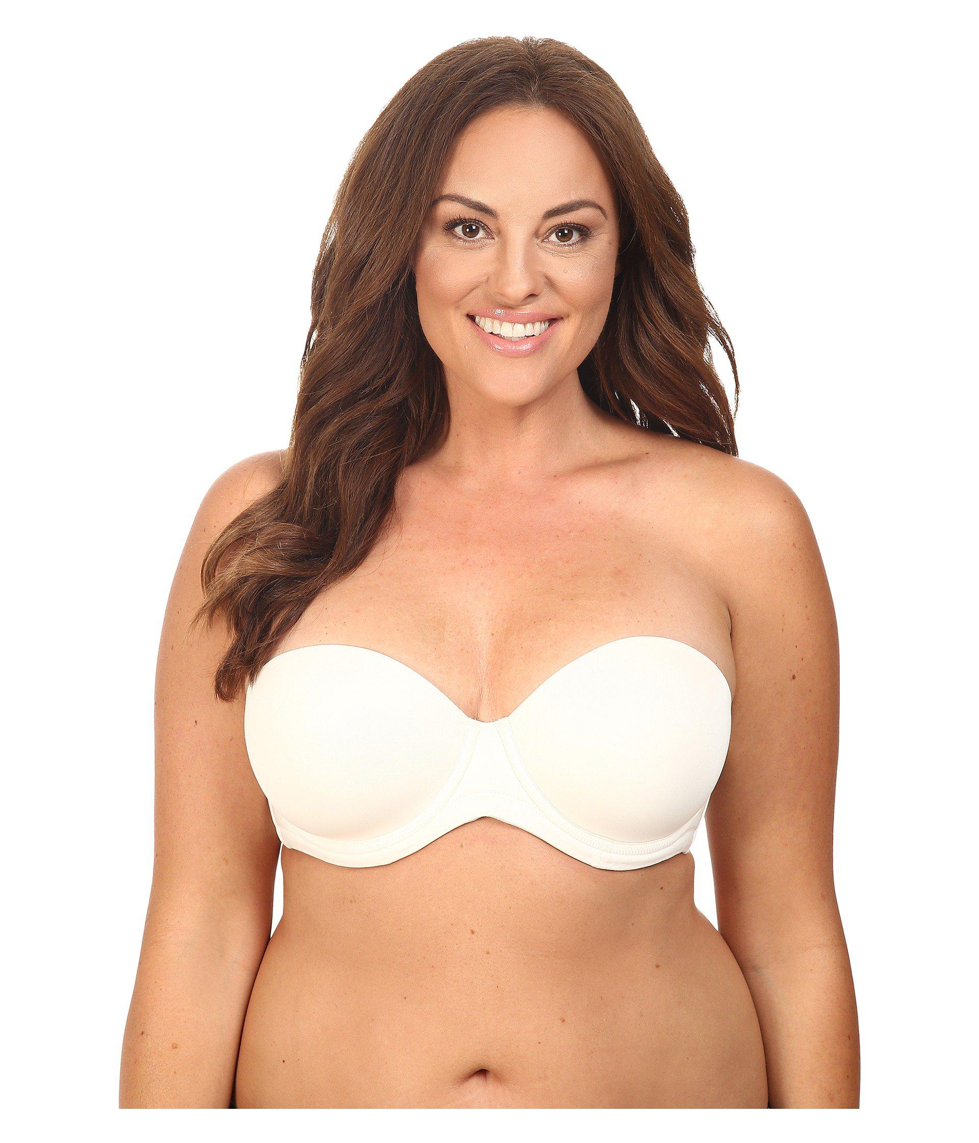 7a6d6457c6 Lyst - Wacoal Red Carpet Full-busted Strapless Bra 854119 in Natural