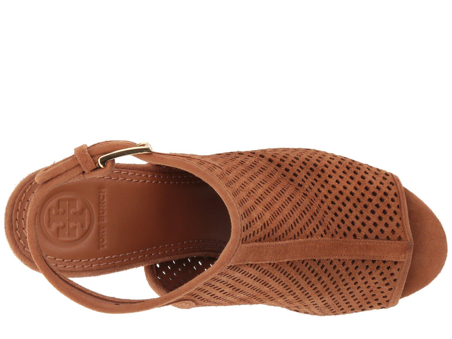 62d86c4db059 Lyst - Tory Burch Jesse 100mm Bootie in Brown
