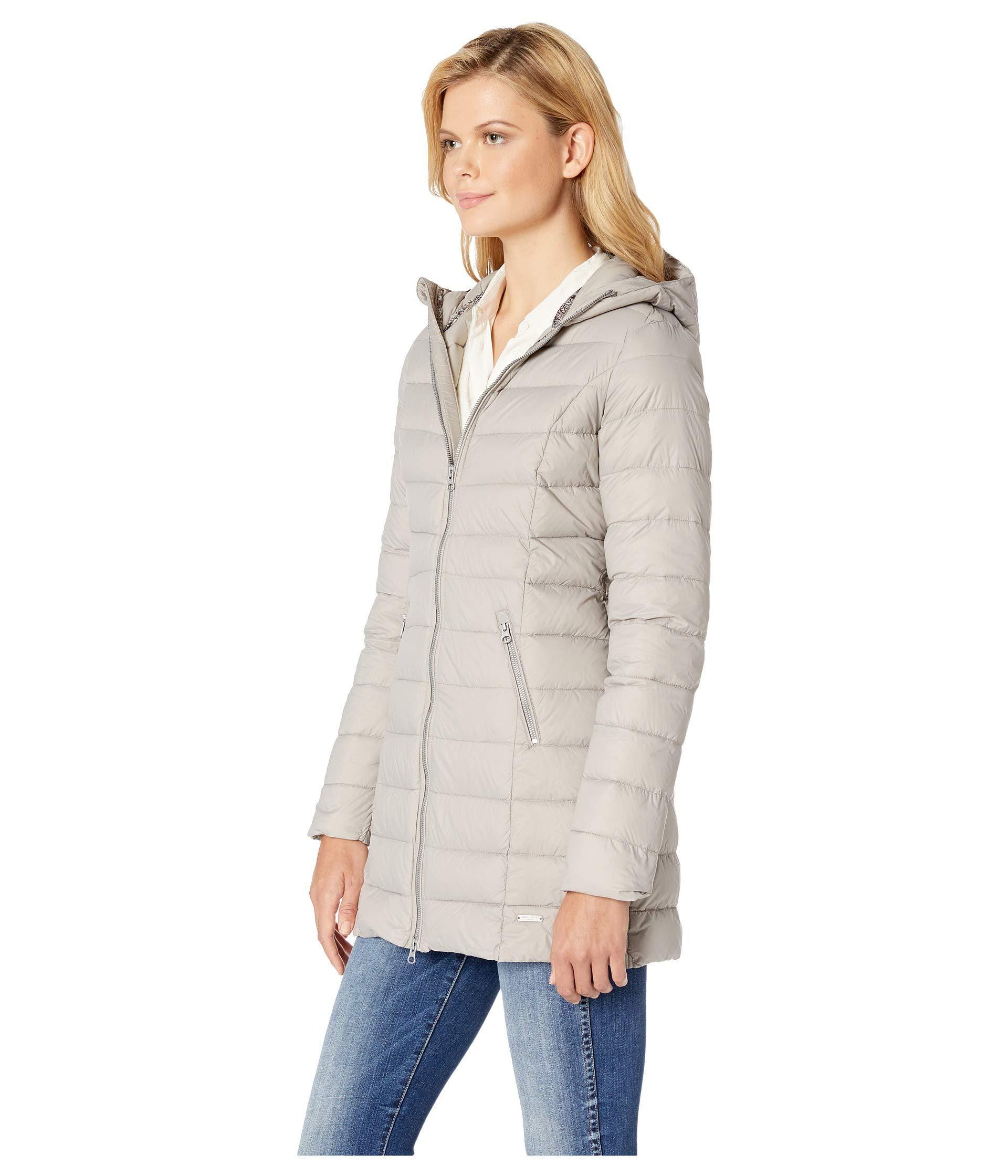 Lyst - Ilse Jacobsen Light Down Coat in Gray - Save 44.65408805031446% ebdecbf986