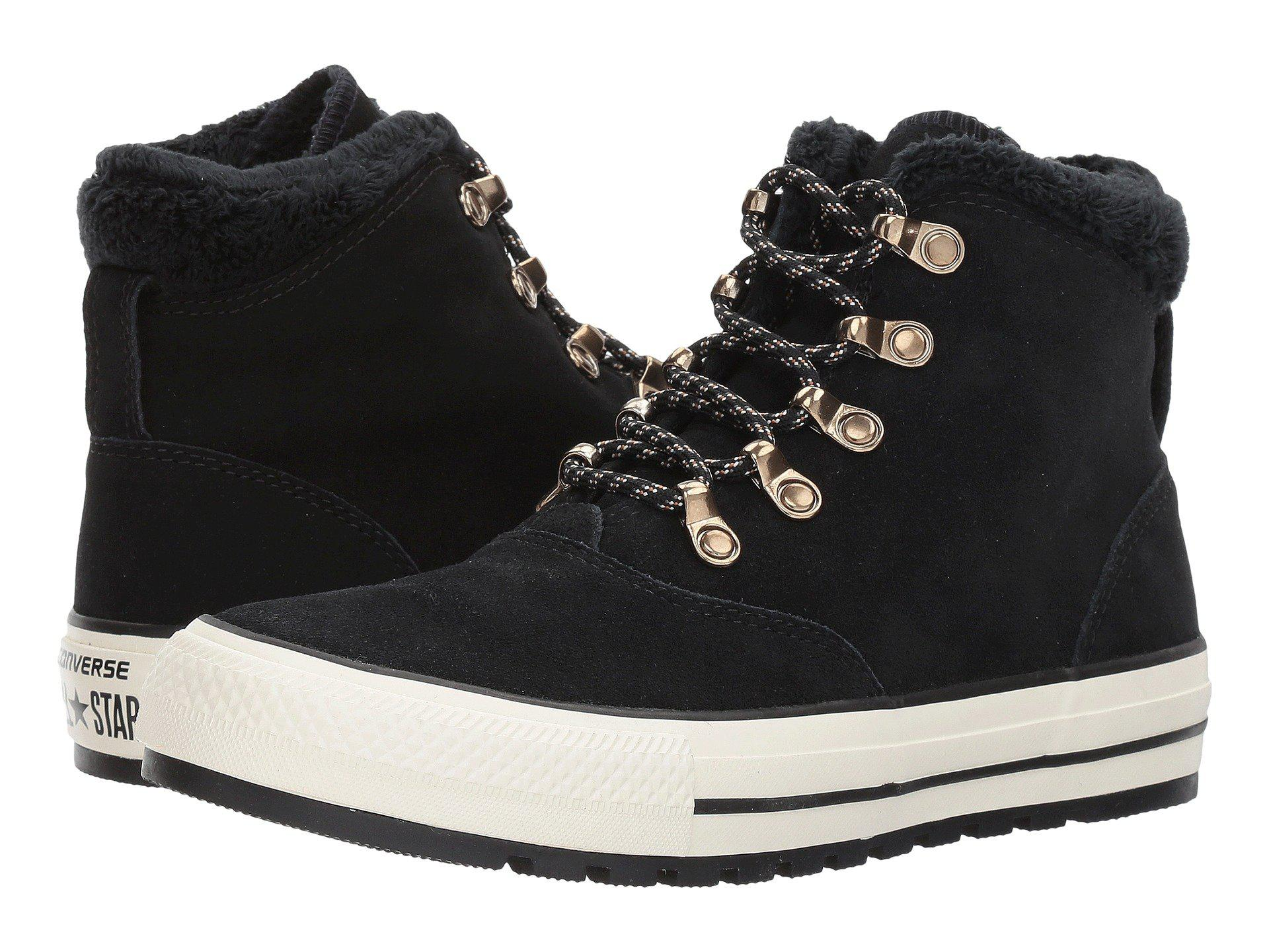 c8148875365b Lyst - Converse Chuck Taylor® All Star® Ember Boot Suede   Faux Fur ...