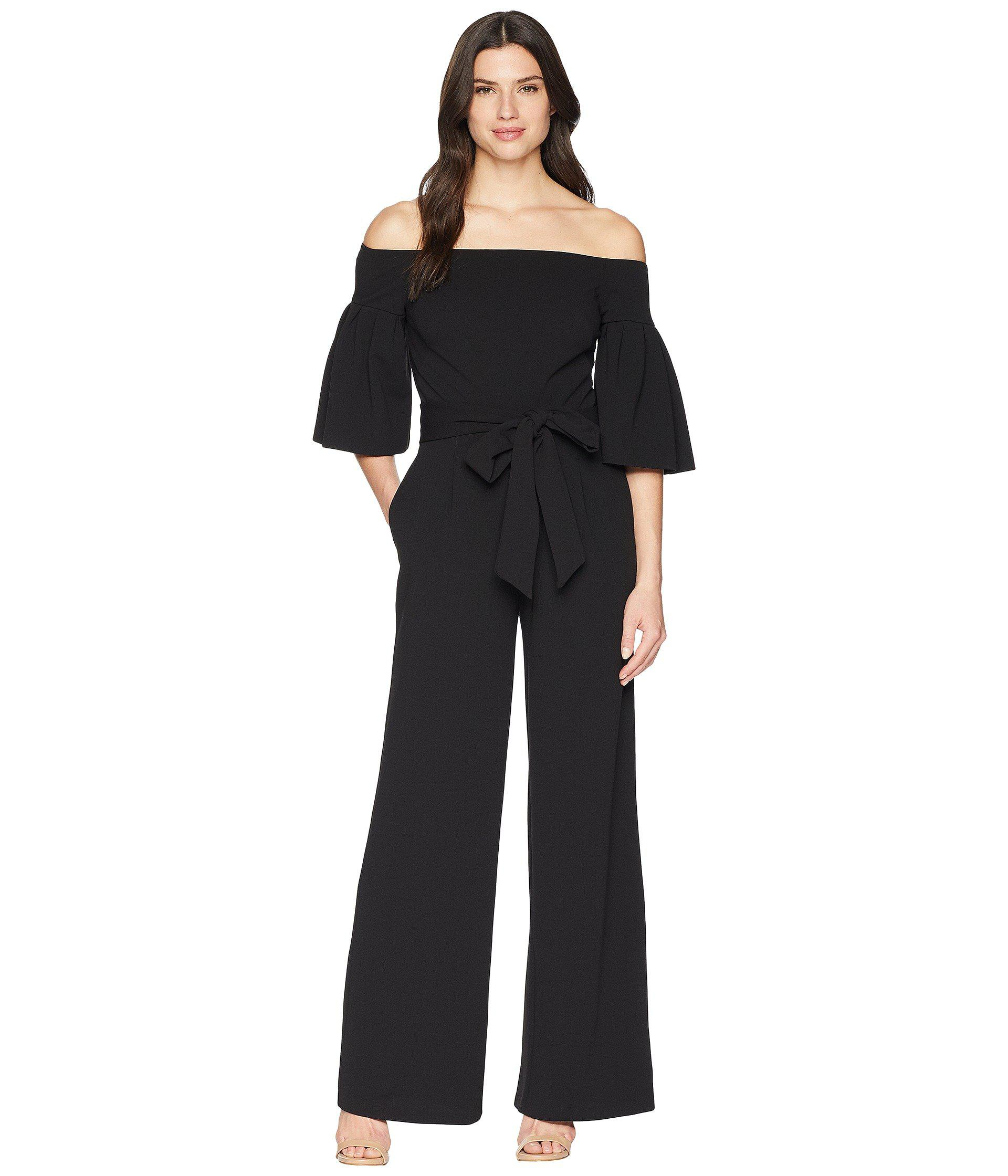 724ca4d5f7e Lauren by Ralph Lauren. Women s Black 130h Luxe Tech Crepe Ranada Jumpsuit