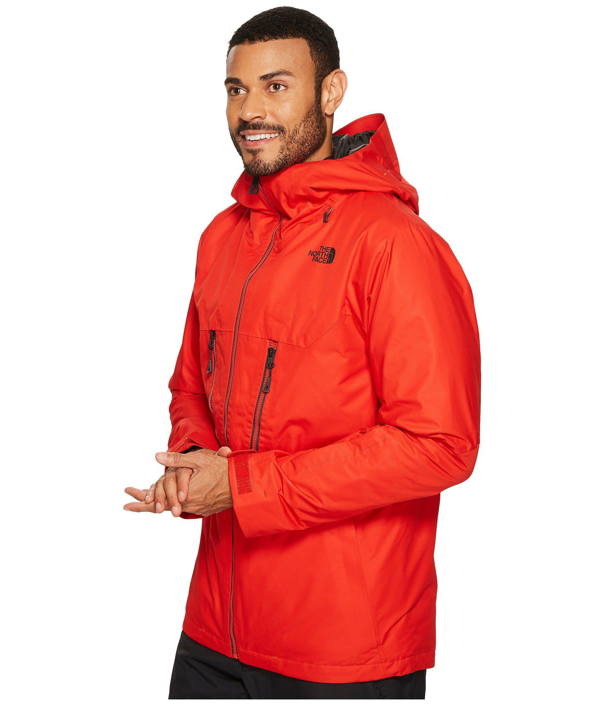 d8a9dbb8fc ... denmark lyst the north face thermoball snow triclimate jacket in red  for men save 28.688524590163937 27c13