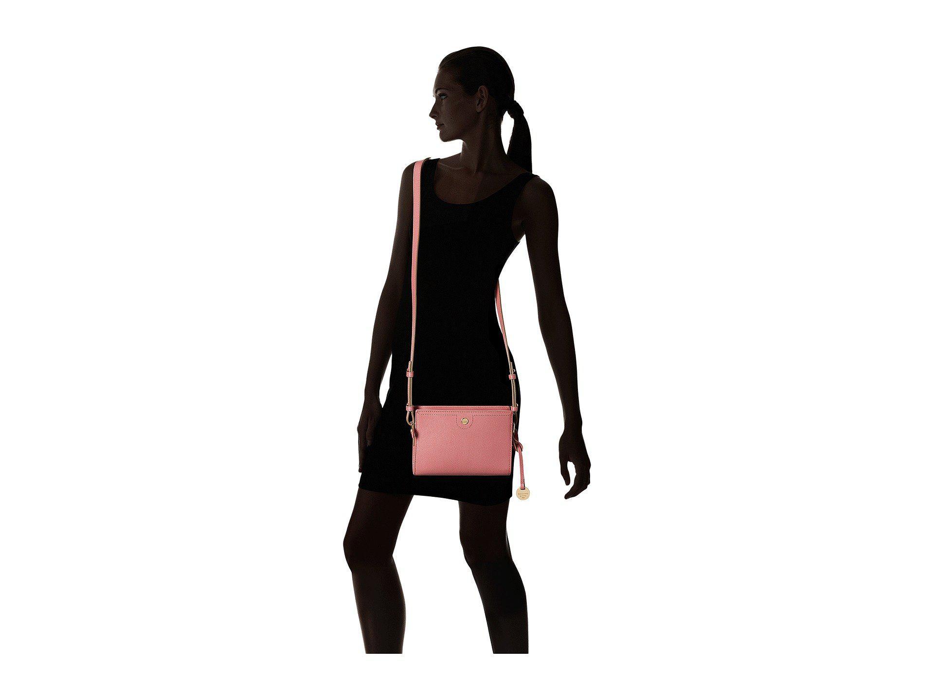 89bb2c763f Lodis - Pink Business Chic Rfid Pheobe Crossbody - Lyst. View fullscreen