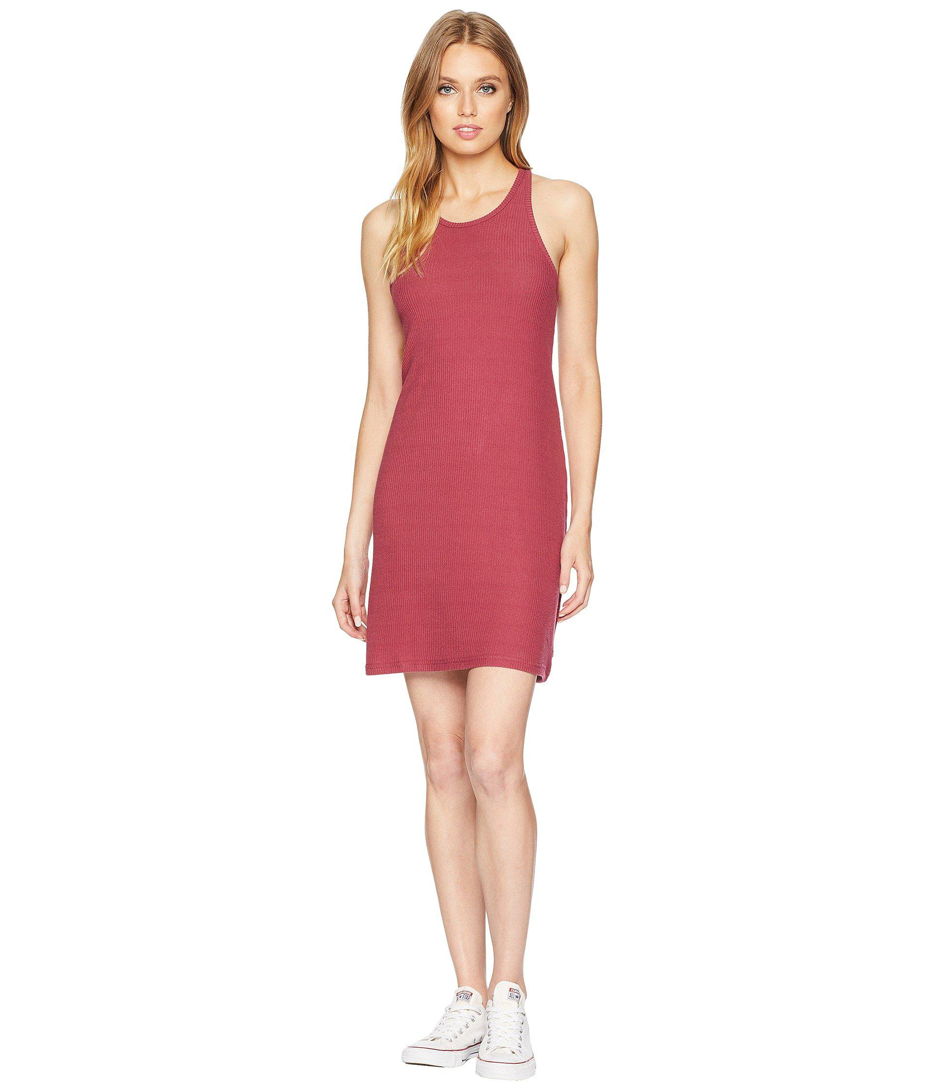 a07a3b5d626433 Lyst - Vans Alley Ii Dress in Red