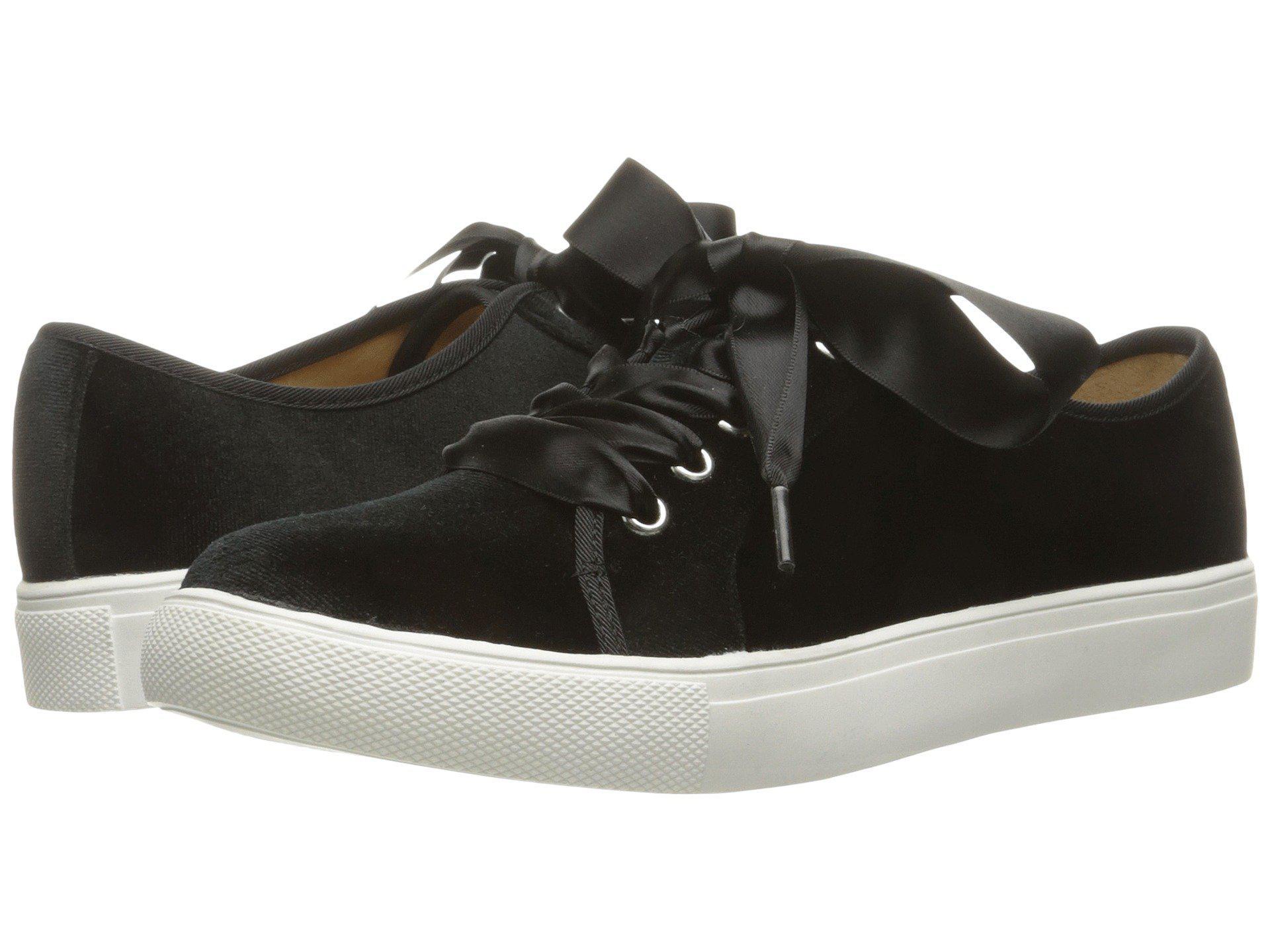 57862befa35273 Lyst - Dirty Laundry Fillmore Velvet Sneaker in Black - Save ...