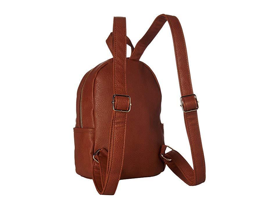 fdac83d532 Steve Madden Bbailey Pvc Backpack (cognac) Backpack Bags in Brown - Lyst