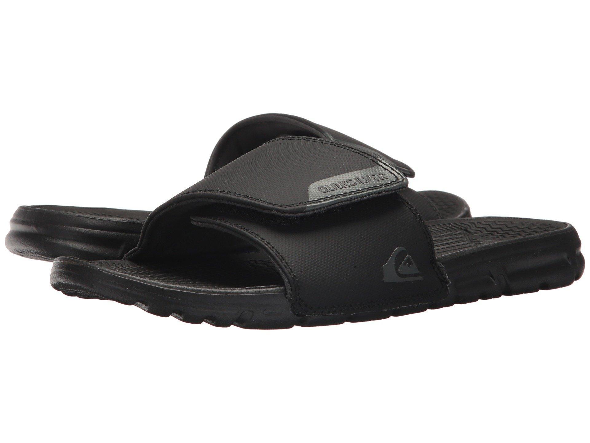 c4ae78fc23bb Lyst - Quiksilver Shoreline Adjust Slide Sandal