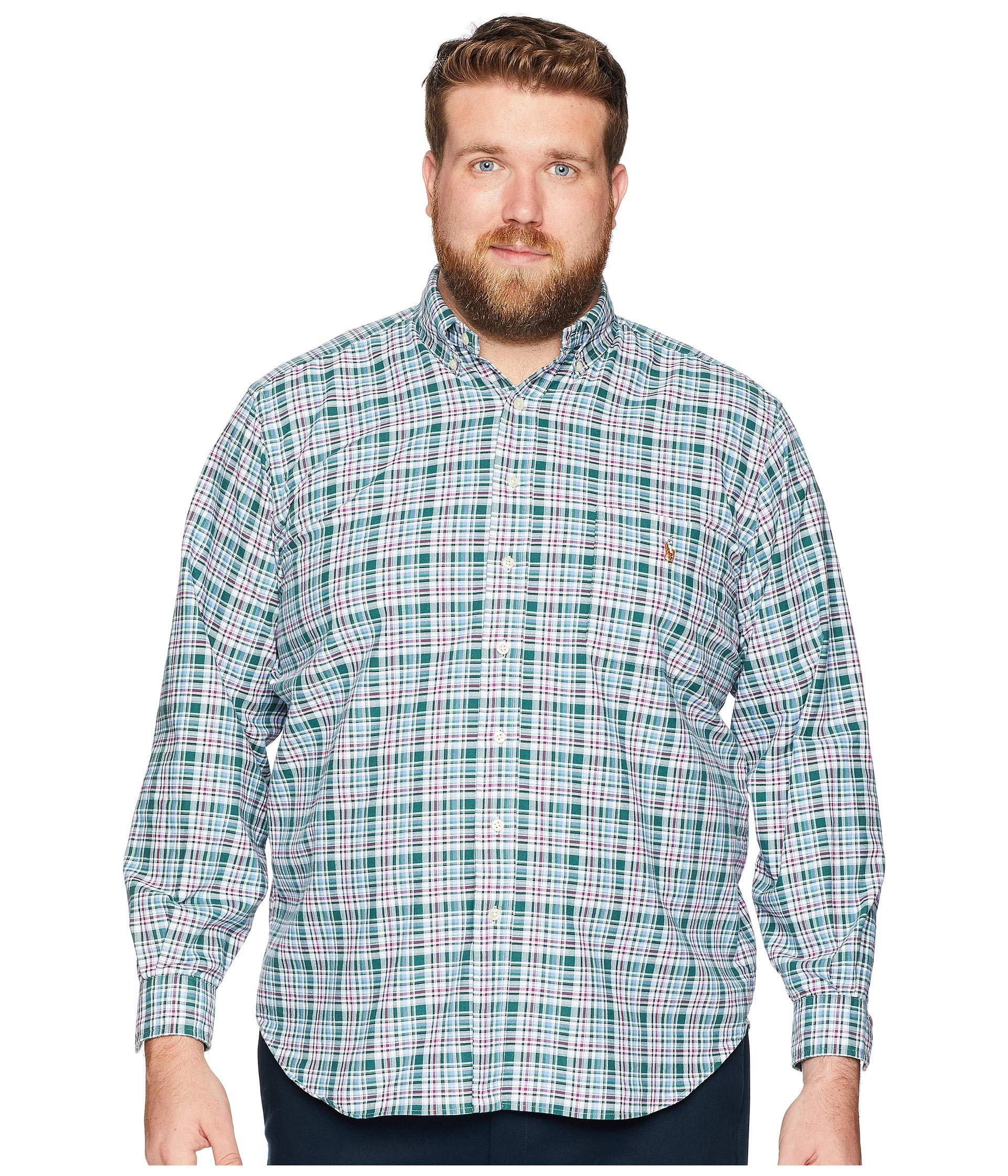 ded392ddc Lyst - Polo Ralph Lauren Big & Tall Oxford in Blue for Men
