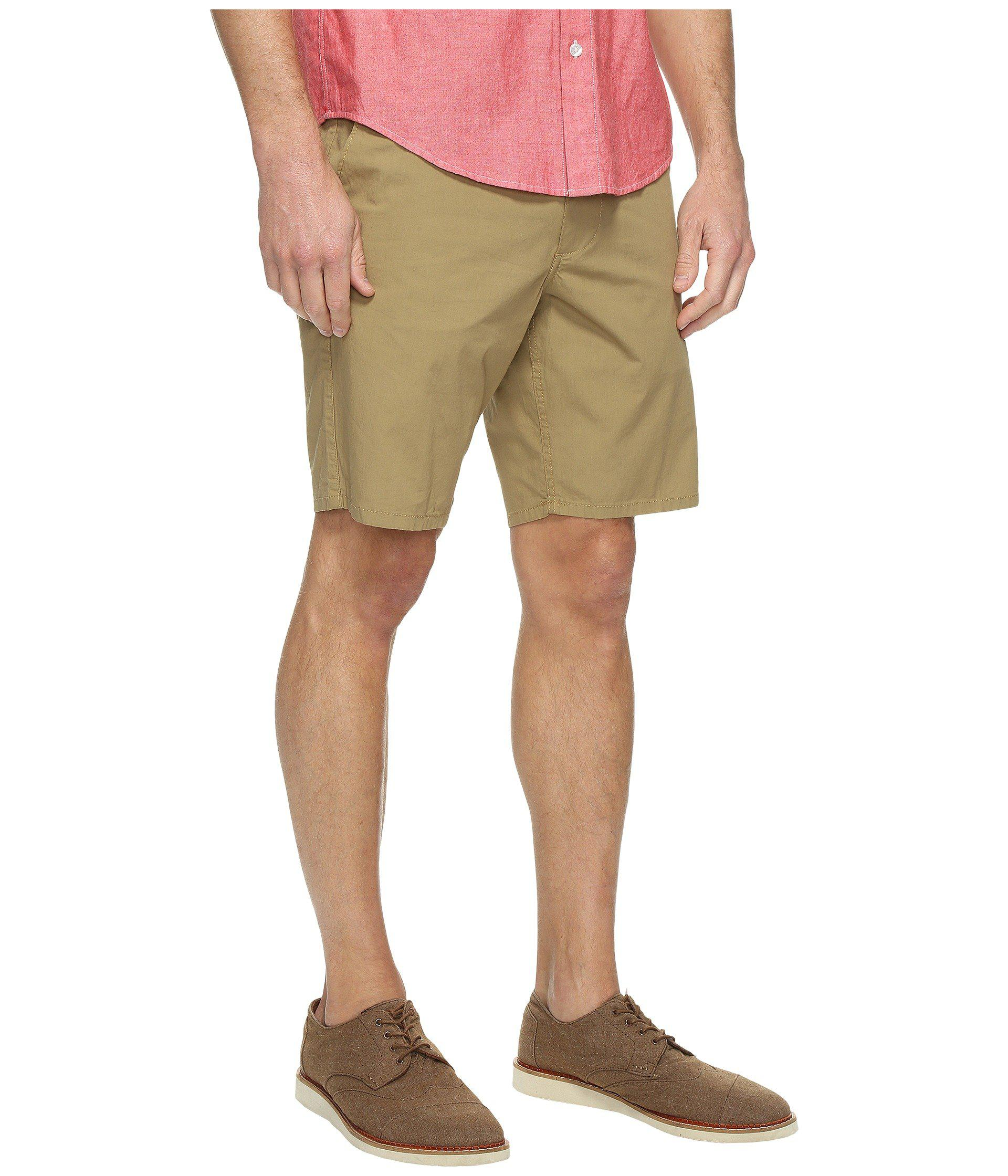 86776d48ed Dockers - Natural Core Flat Front Straight Shorts for Men - Lyst. View  fullscreen