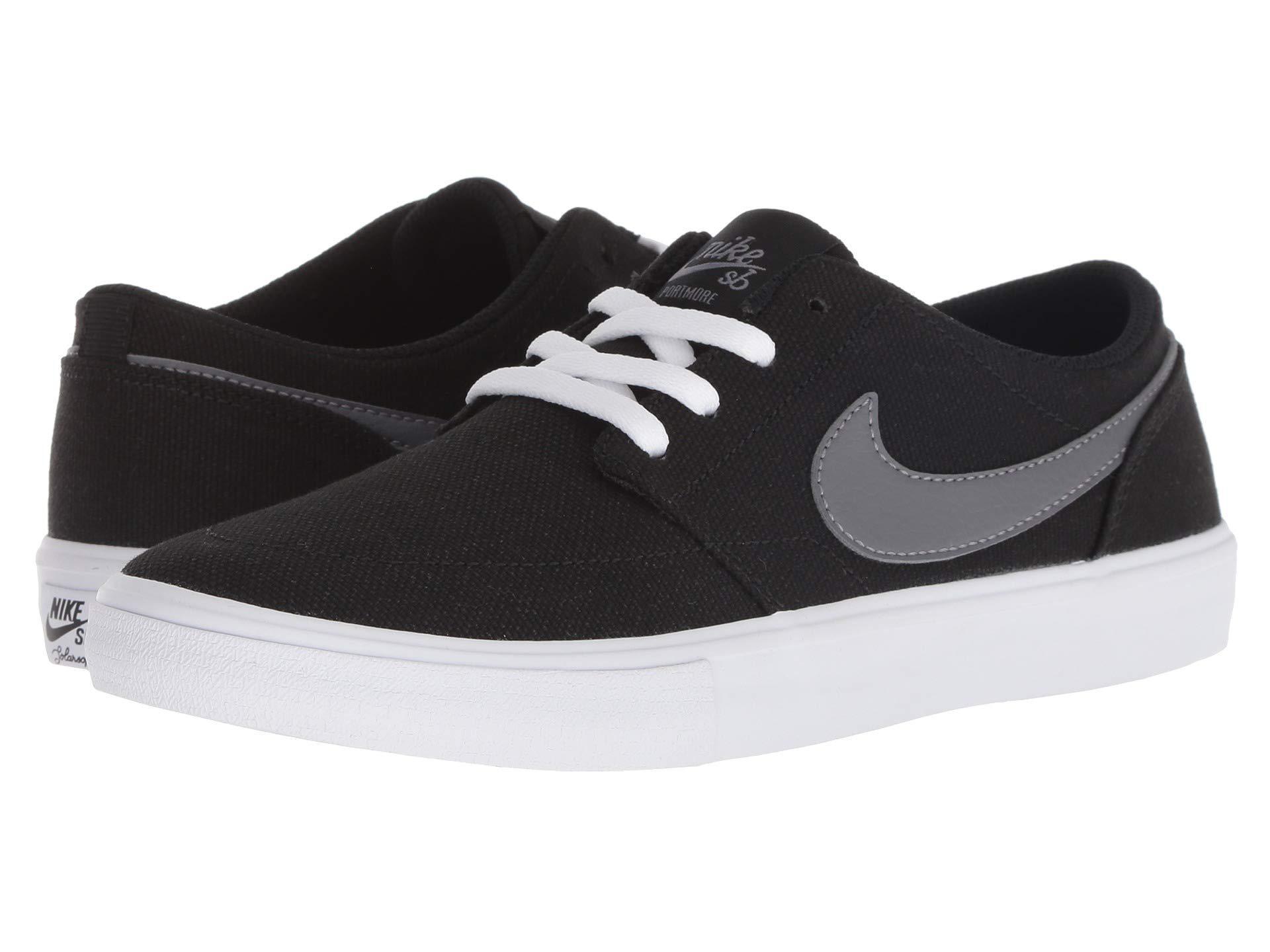 cheaper 4e6e7 0a413 Nike. Women s Black Solarsoft Portmore Ii