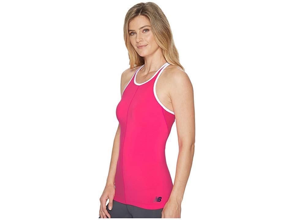 e858b9f500ac6 New Balance - Centre Court Tank Top (alpha Pink) Sleeveless - Lyst. View  fullscreen