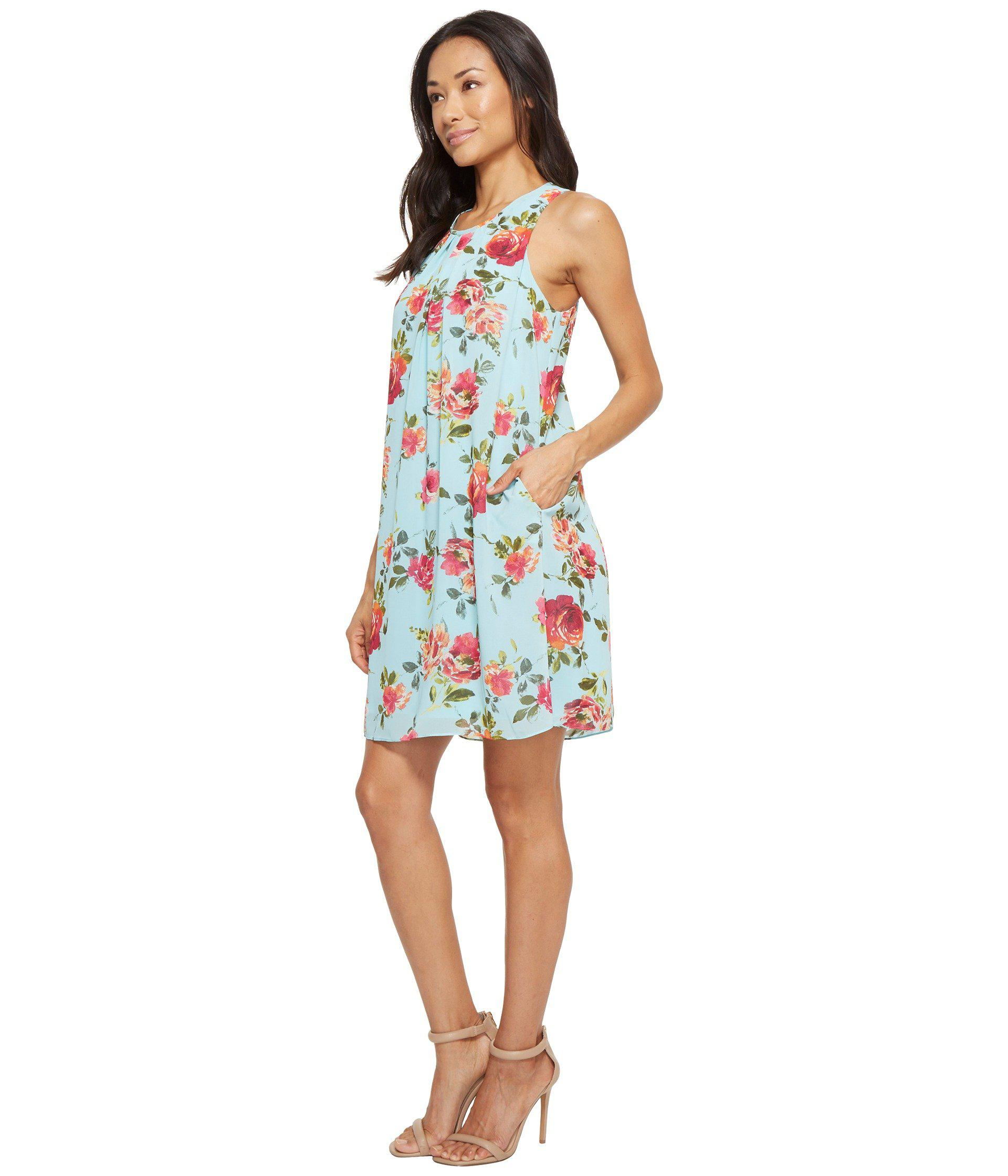 72b564b277 Lyst - Kut From The Kloth Sela Floral Dress in Blue - Save 44%