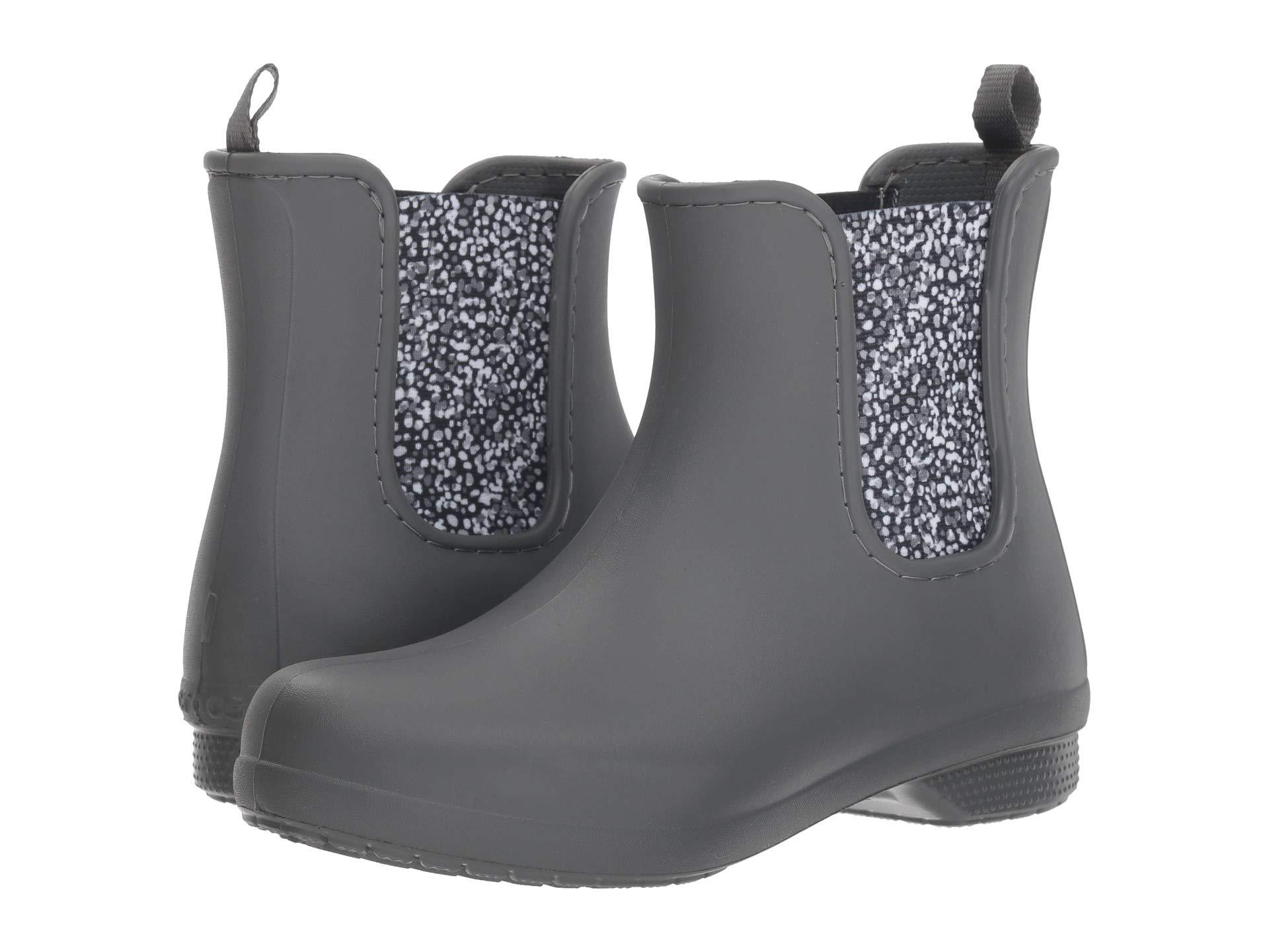 ac498468d99aff Lyst - Crocs™ Freesail Chelsea Rain Boot in Gray - Save 24%