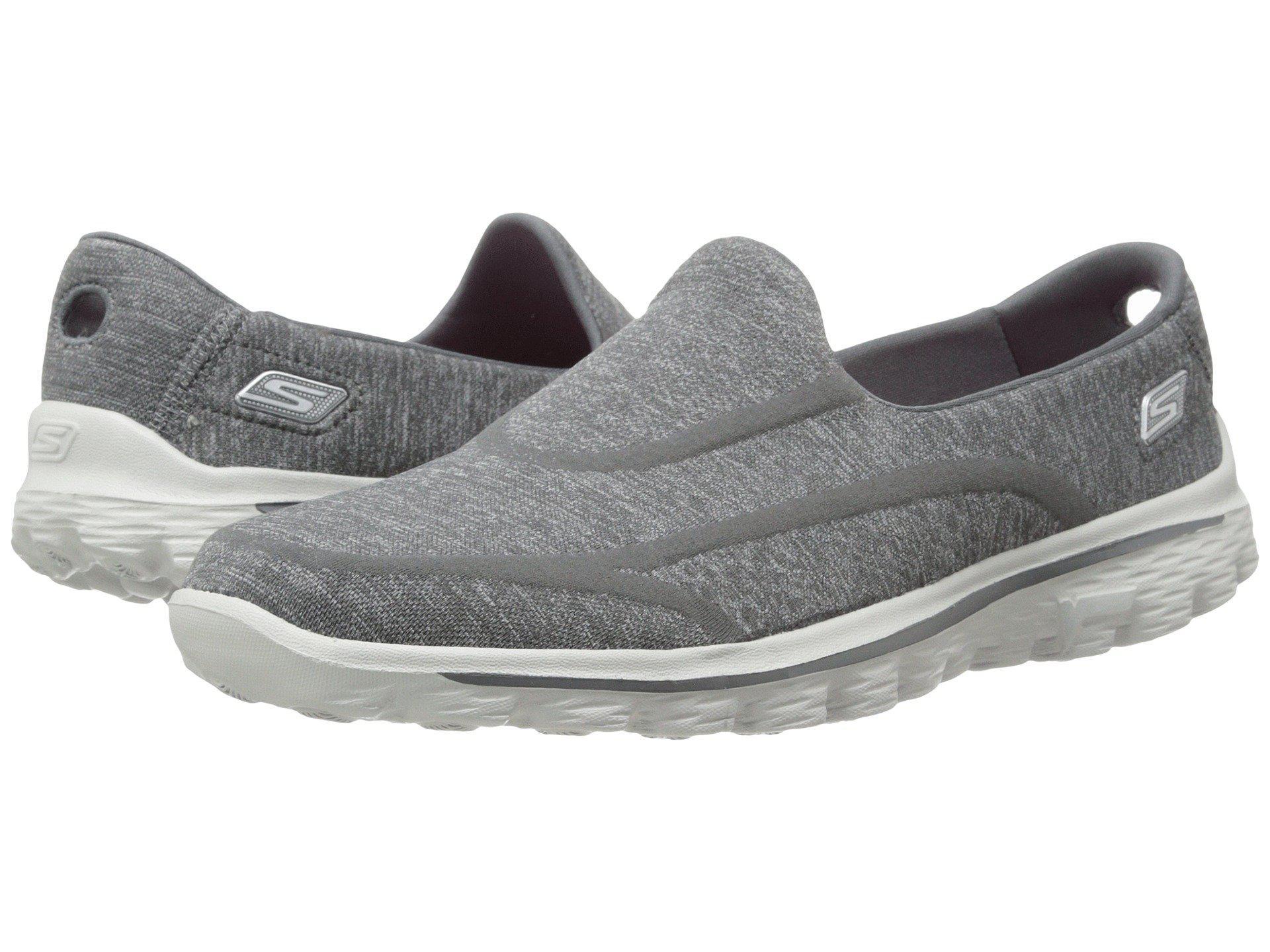 Skechers. Women's Gray Go Walk 2 - Supersock