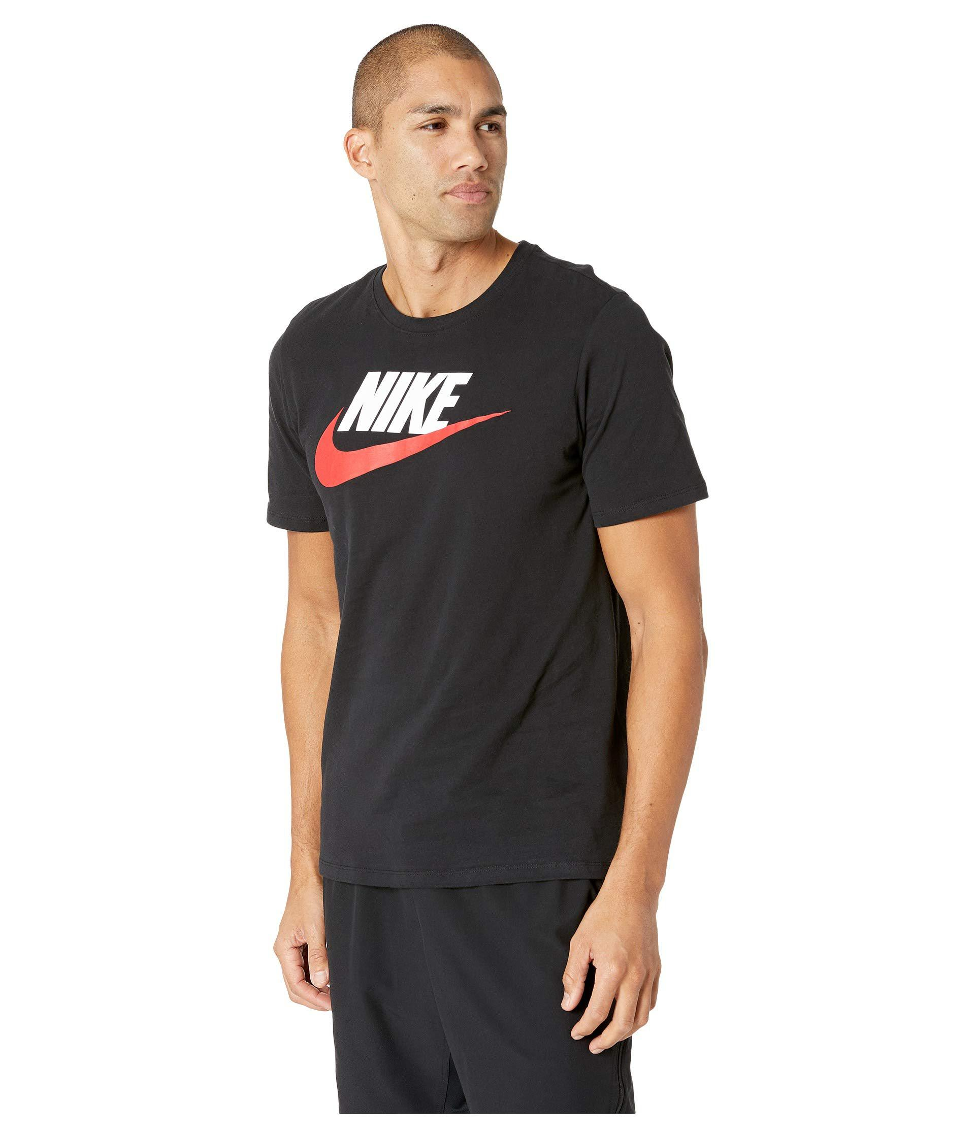 501f6d60d Nike - Black Futura Icon Tee for Men - Lyst. View fullscreen