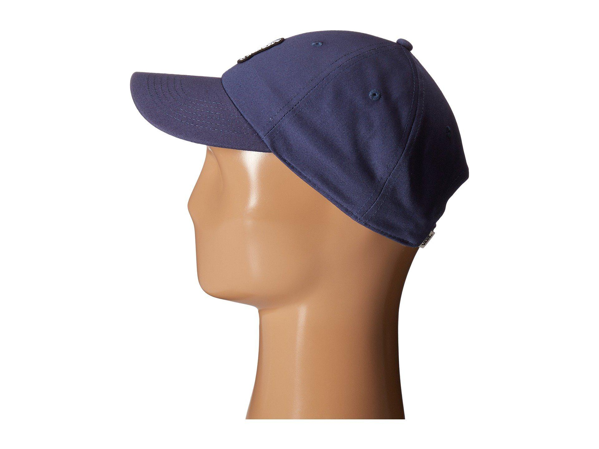 d33548ba273 Lyst - Vans Peanuts Court Side Hat in Blue for Men