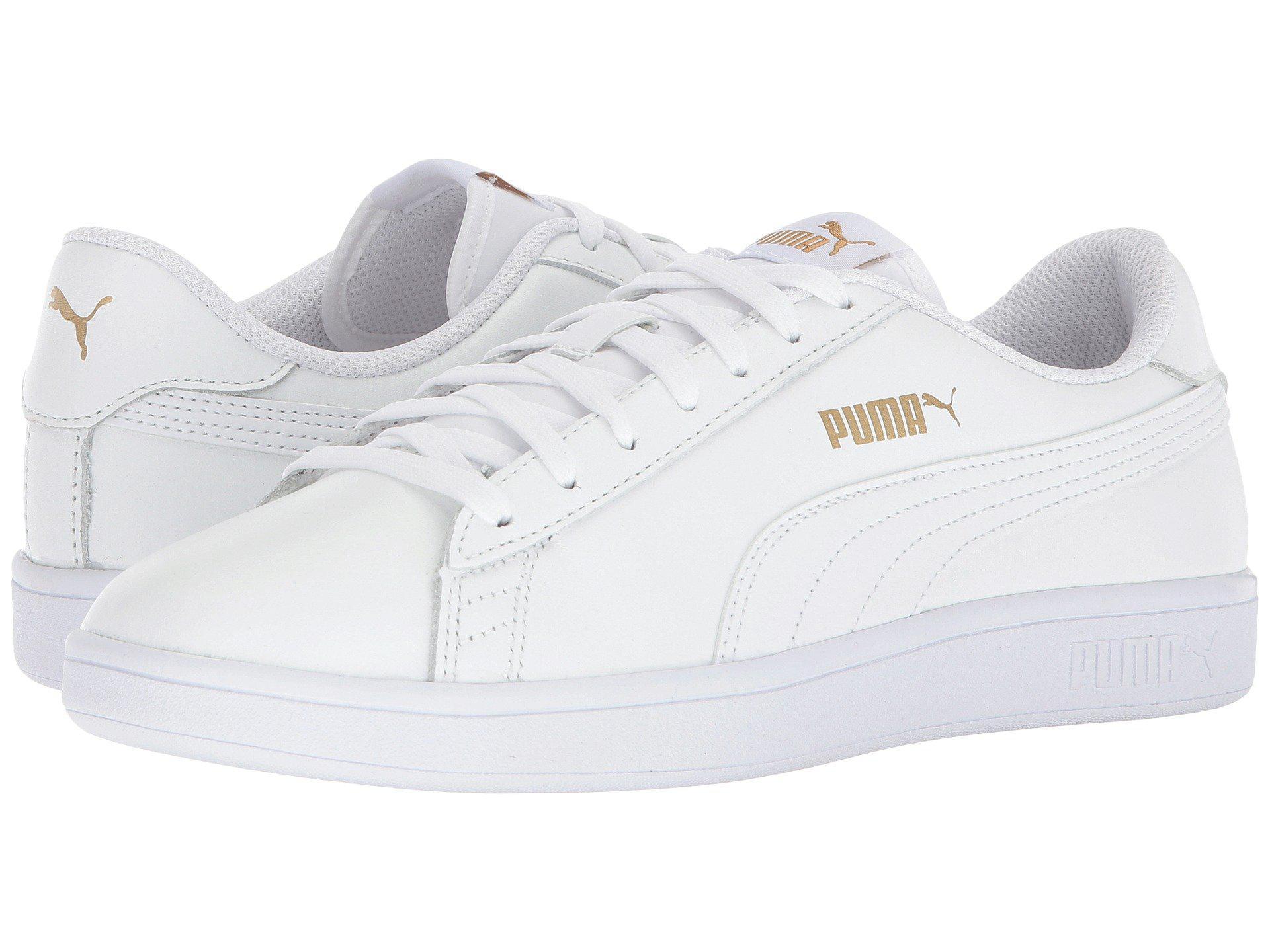 9d7432d1dc3 Lyst - PUMA Smash V2 L Plus in White for Men