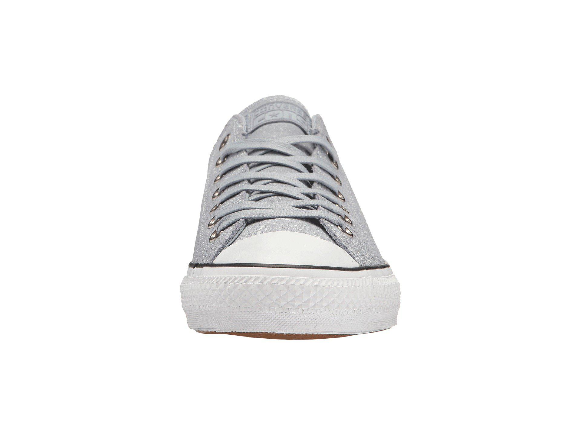 28f651e2669b Lyst - Converse Chuck Taylor® All Star® Pro Peppered Suede Ox in ...