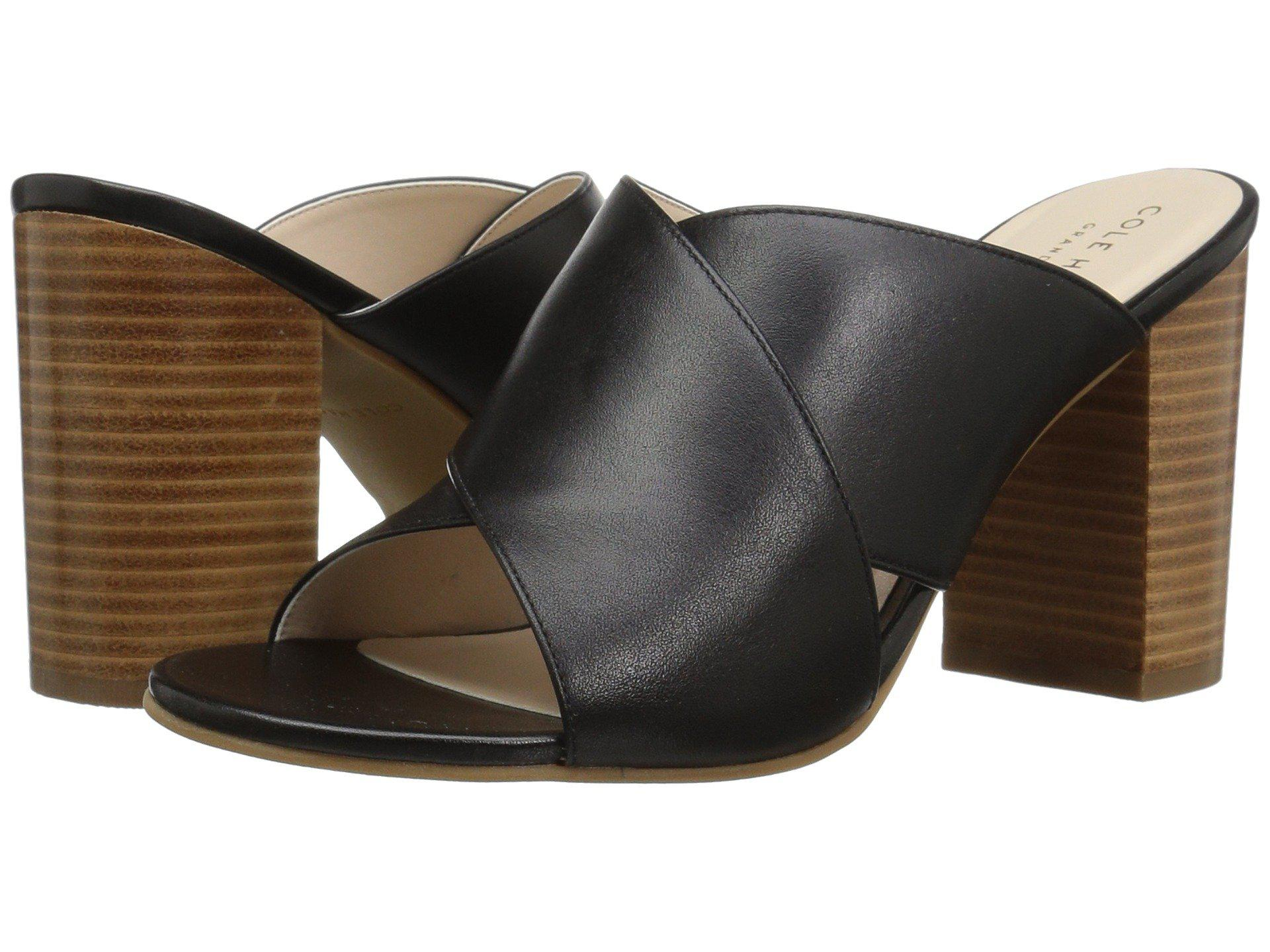 ecd30fa45bee Lyst - Cole Haan Gabby Sandal in Black - Save 13.541666666666671%