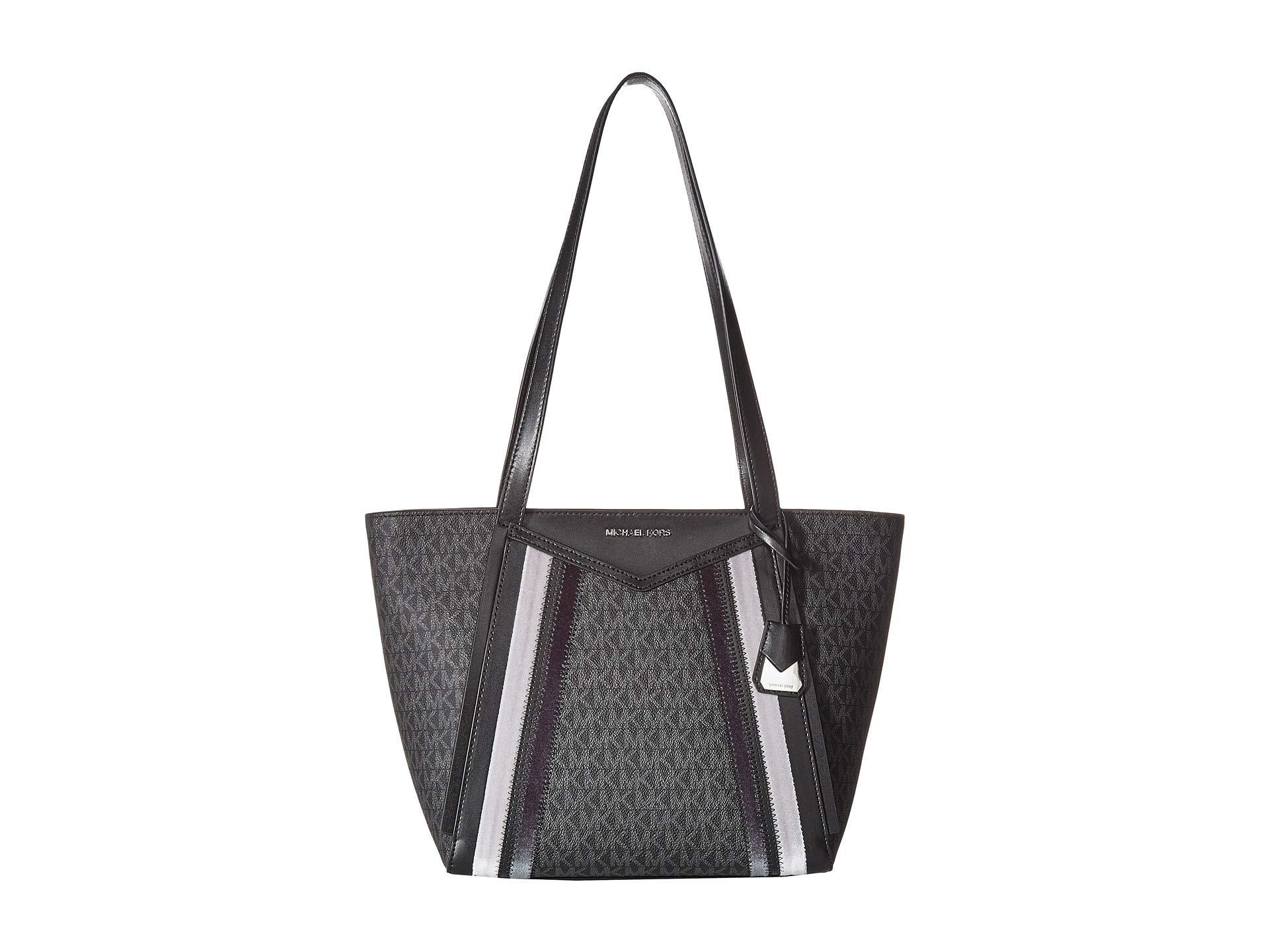 71f61ff27f Lyst - MICHAEL Michael Kors Whitney Small Top Zip Tote in Gray ...