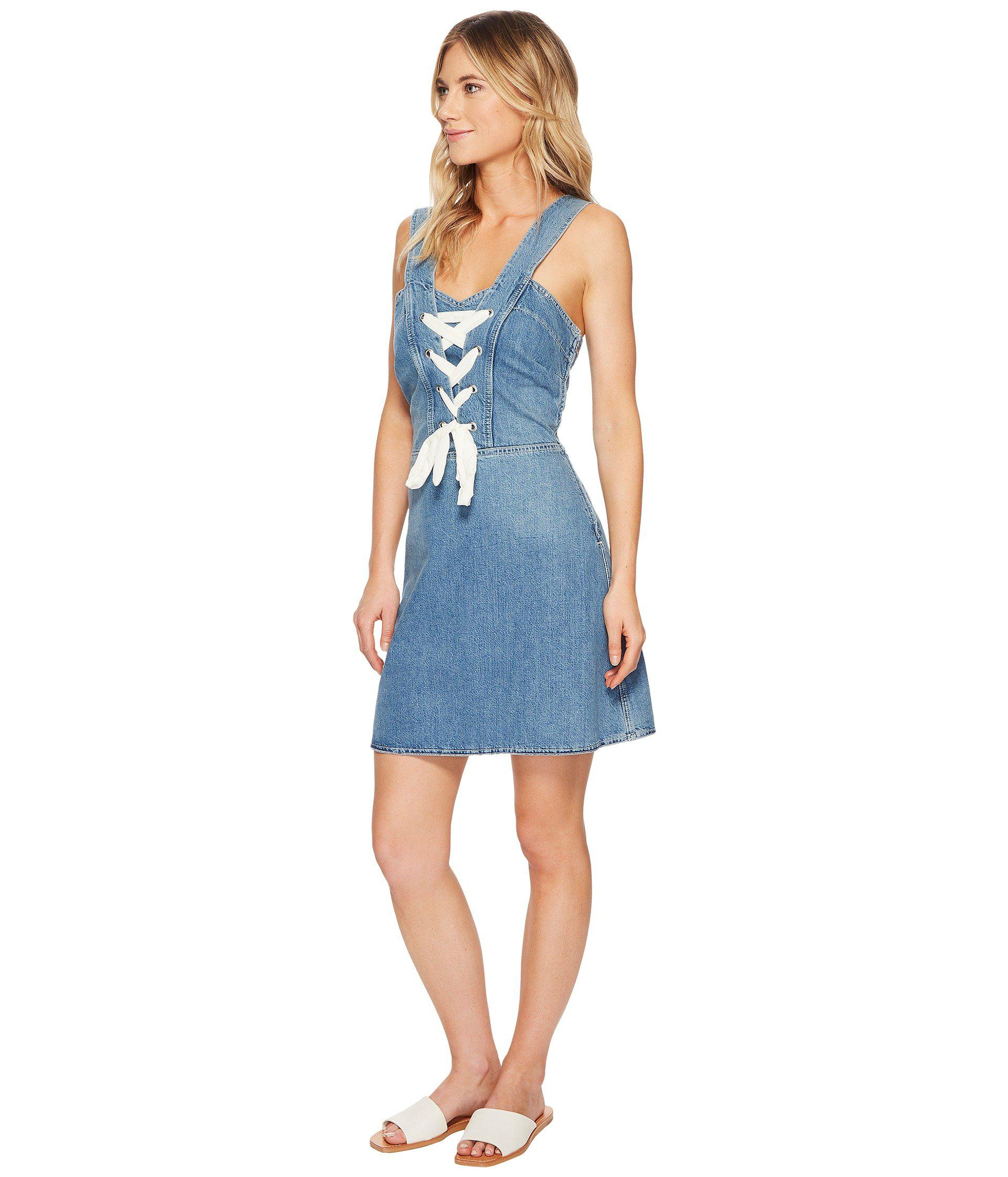 bf2d259fd71 Lyst - PAIGE Tula Dress in Blue - Save 60%