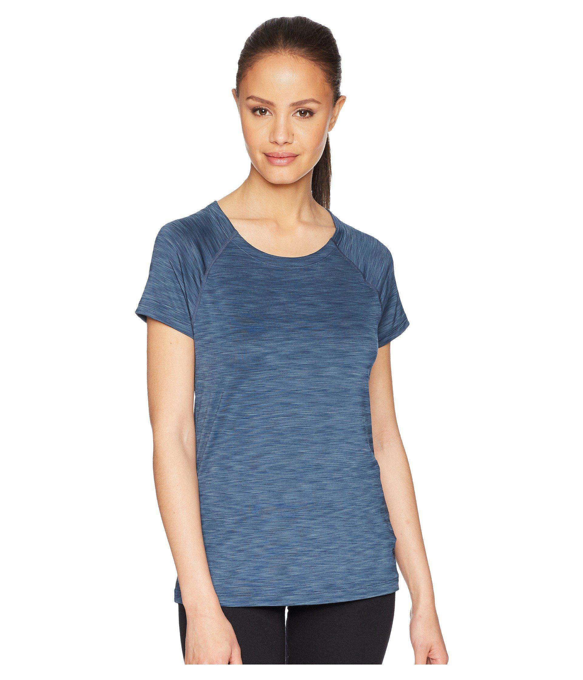 20676ead96a2 Mountain Hardwear Mighty Stripe Short Sleeve Shirt (zinc) Short ...