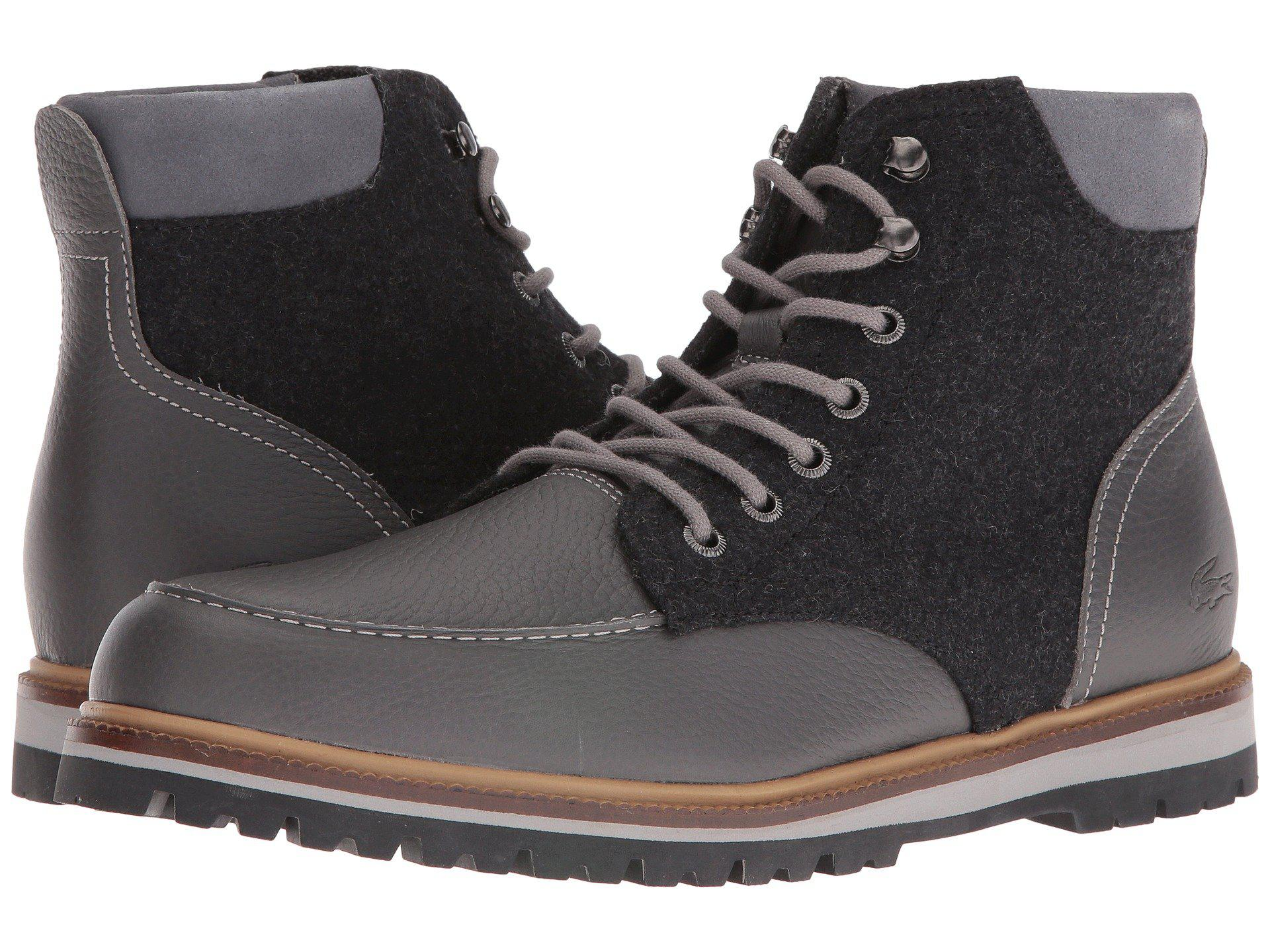 7a6a13f21d9f33 Lyst - Lacoste Montbard Boot 316 2 in Gray for Men - Save 22%