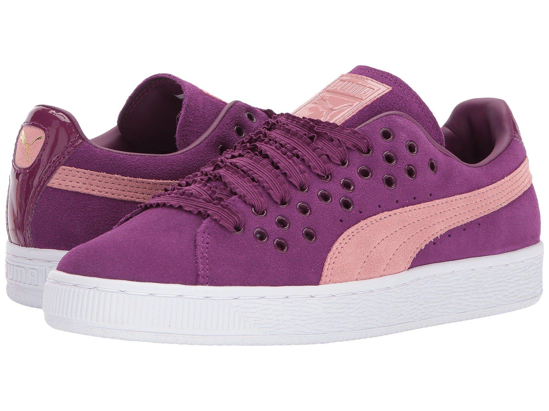 73ac27460 Lyst - PUMA Suede Xl Lace in Purple - Save 56.45161290322581%