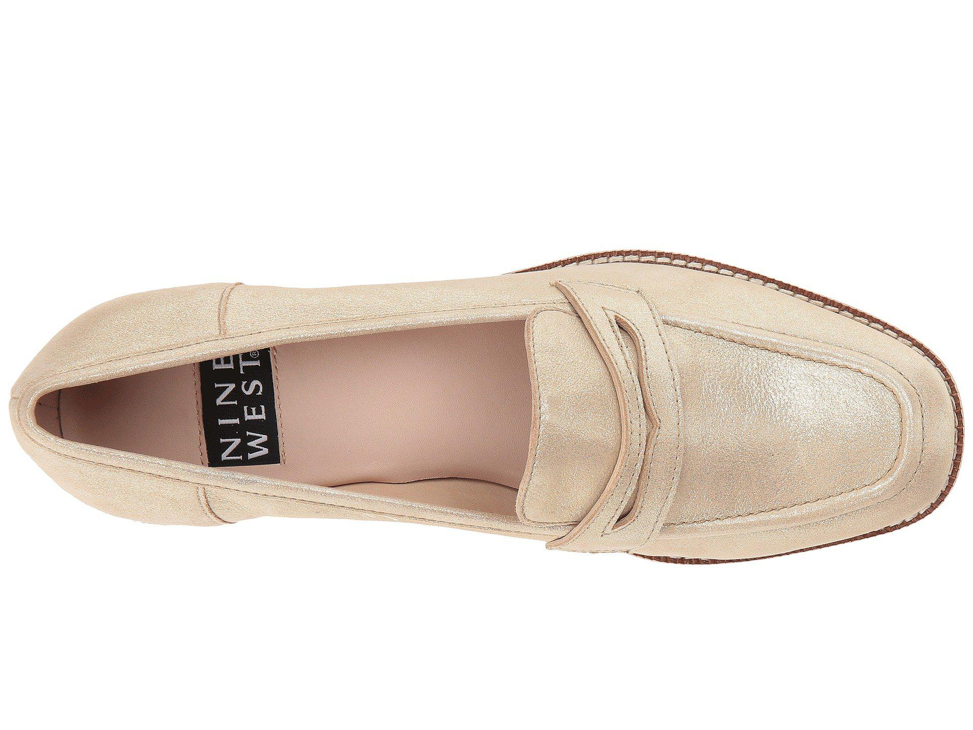 1f098509738 Nine West - Brown Kimmy Loafers - Lyst. View fullscreen