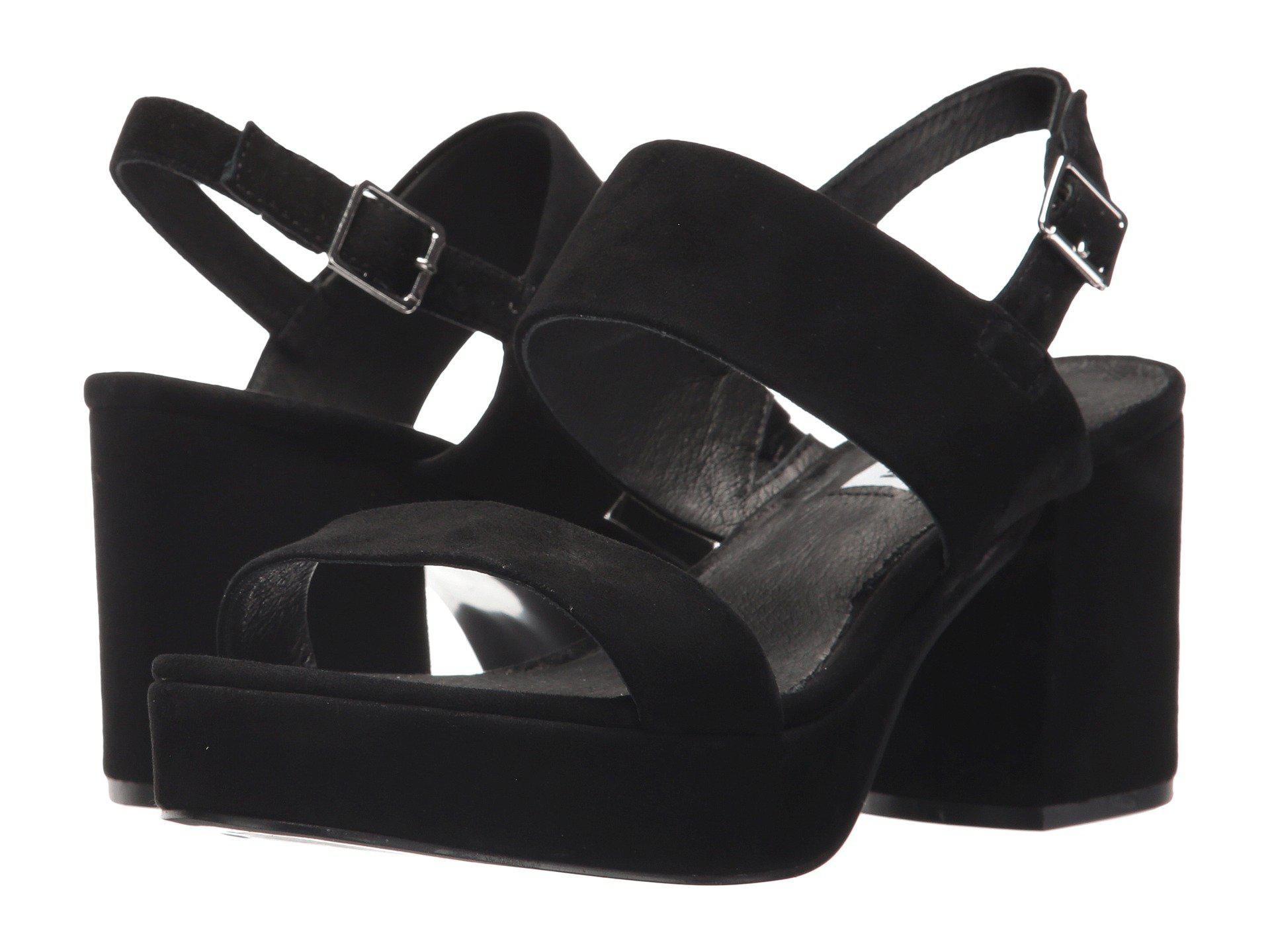 d111ca79a14a Lyst - Steve Madden Reba Sandal in Black