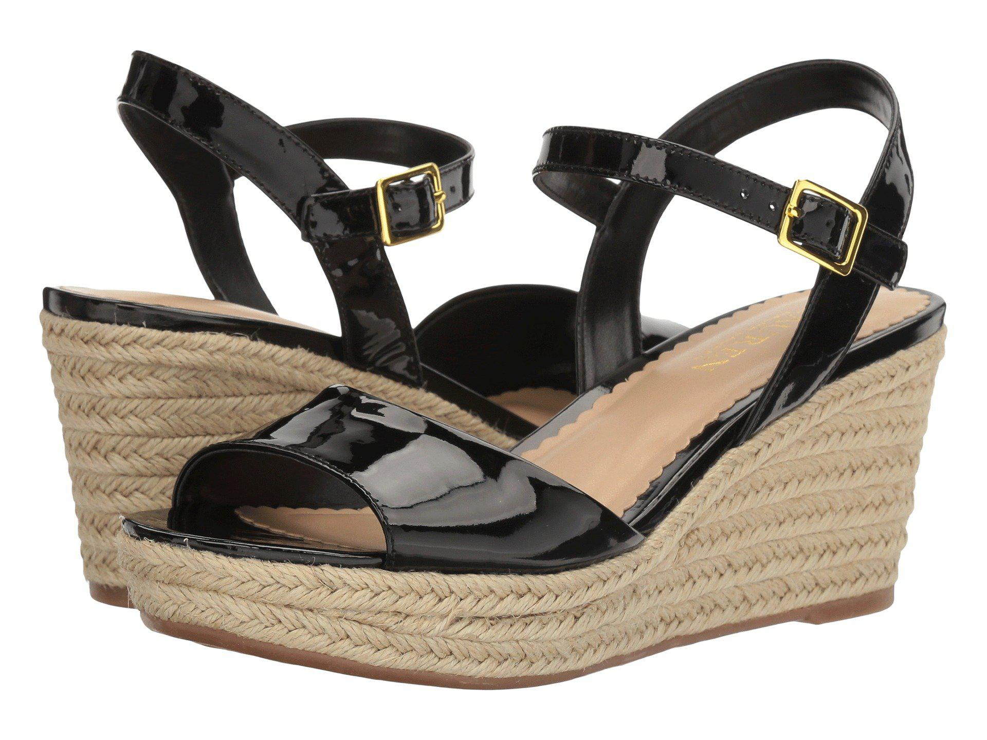 Lauren By Ralph Lauren Keara Espadrille Wedge Sandals In