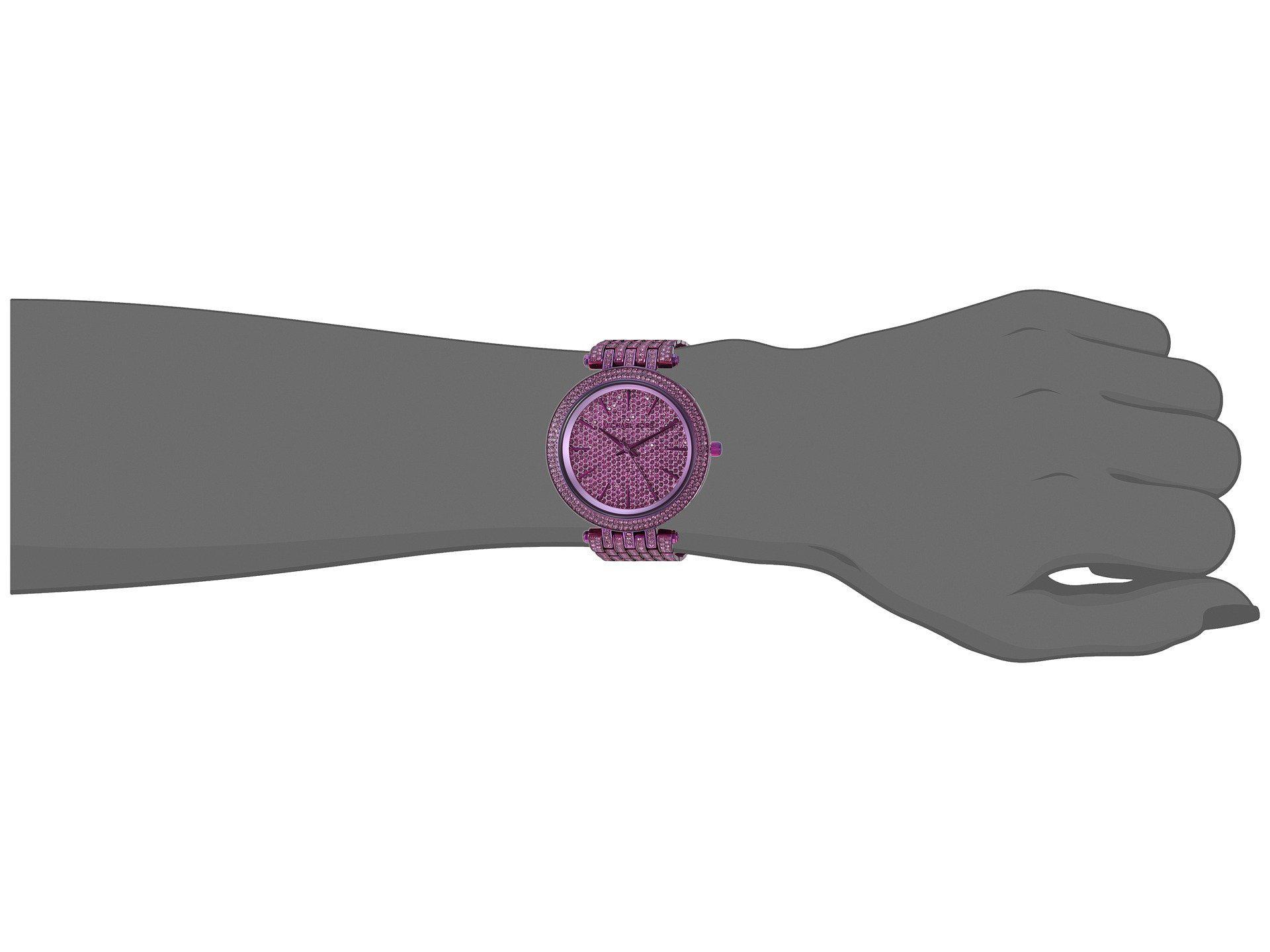 d2b35228e451 Lyst - Michael Kors Mk3782 - Darci in Purple