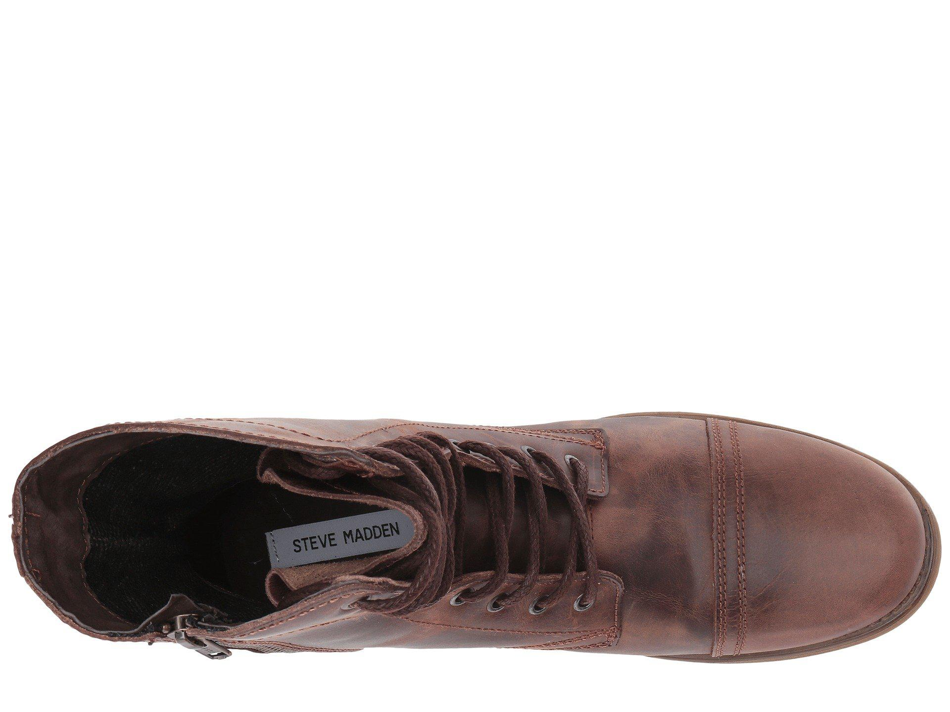 af83d79da30 Steve Madden - Brown Troopah-c for Men - Lyst. View fullscreen