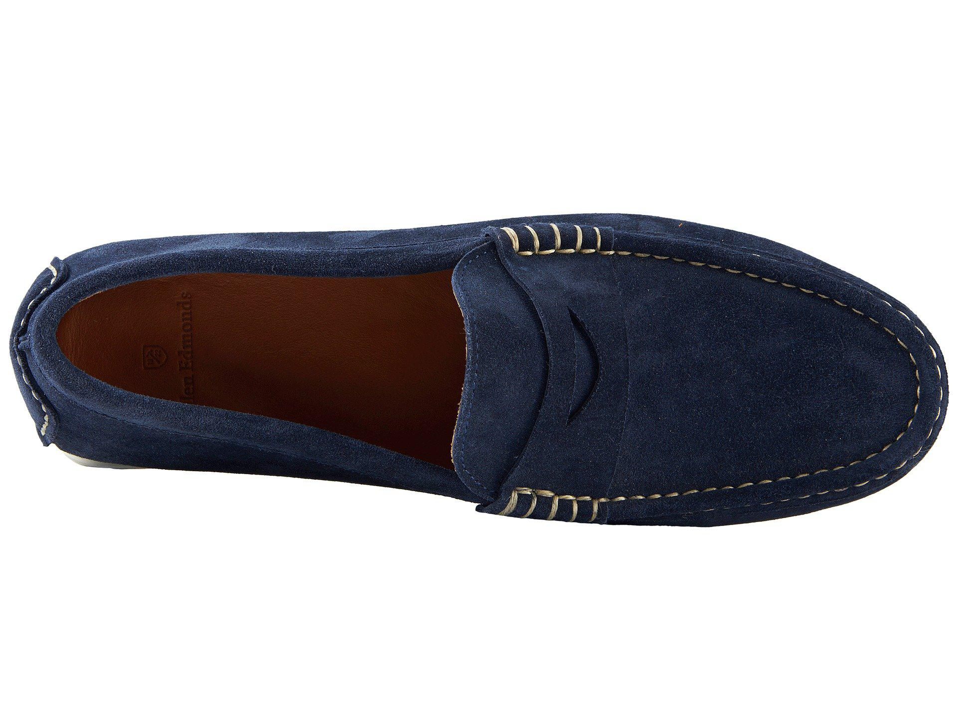 e0289f5da70 Allen Edmonds - Blue Turner Penny for Men - Lyst. View fullscreen