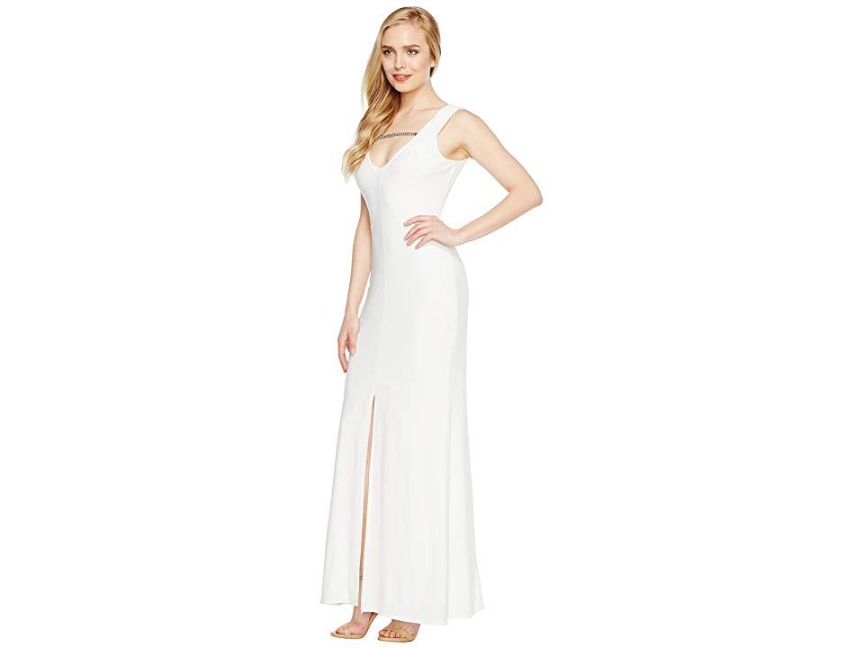 1011f249 Laundry by Shelli Segal Mj Embellished Gown (marshmallow) Dress in ...