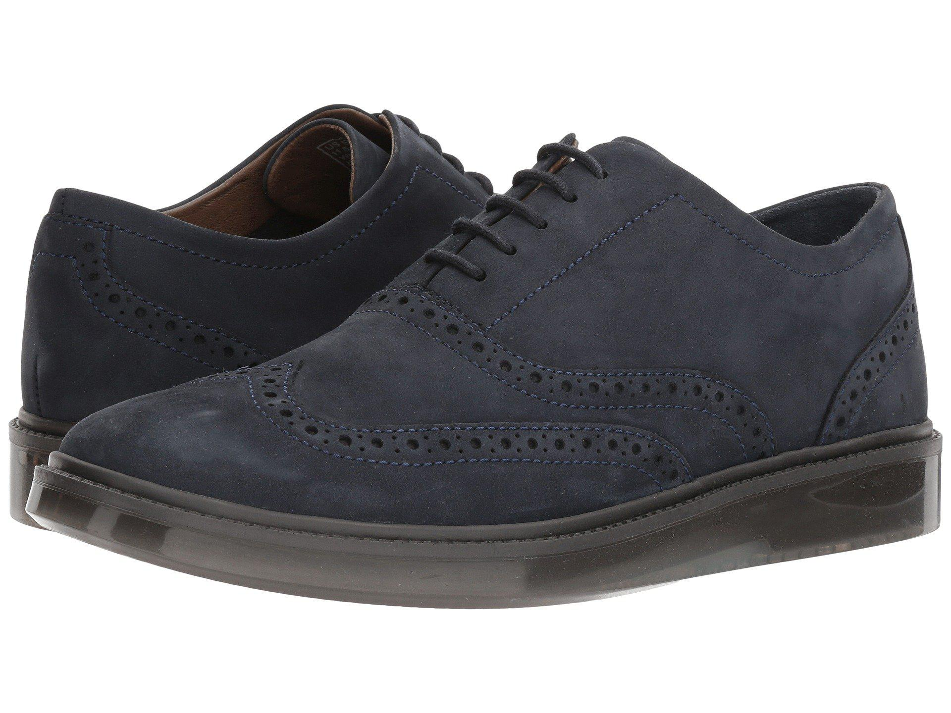 Lyst - Hush Puppies Shiba Brogue Oxford in Blue for Men - Save 16% 241ecb06b0
