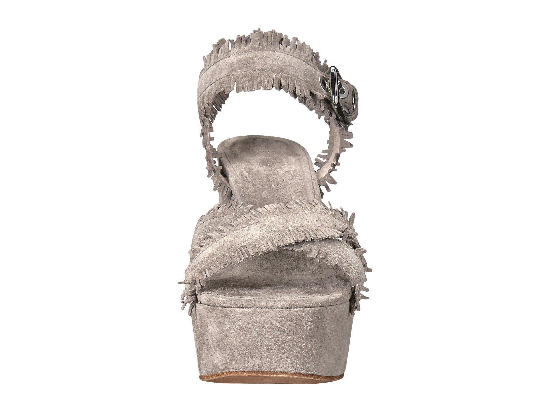 Kennel & Schmenger Kenda Fringe Platform Sandal UsO5Dt0x