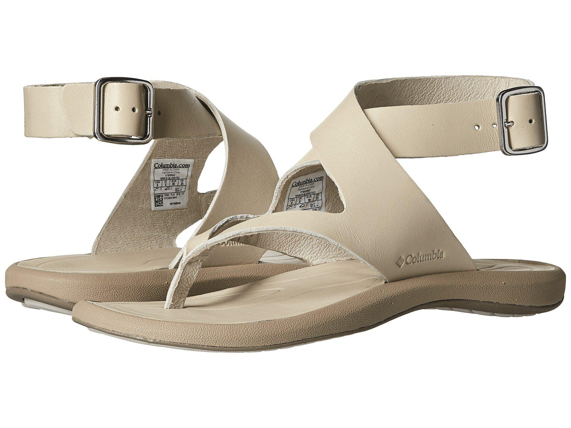 Columbia Caprizee Leather Sandal hu6Lt